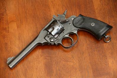 Револьвер Webley Mark IV.38 #B38631