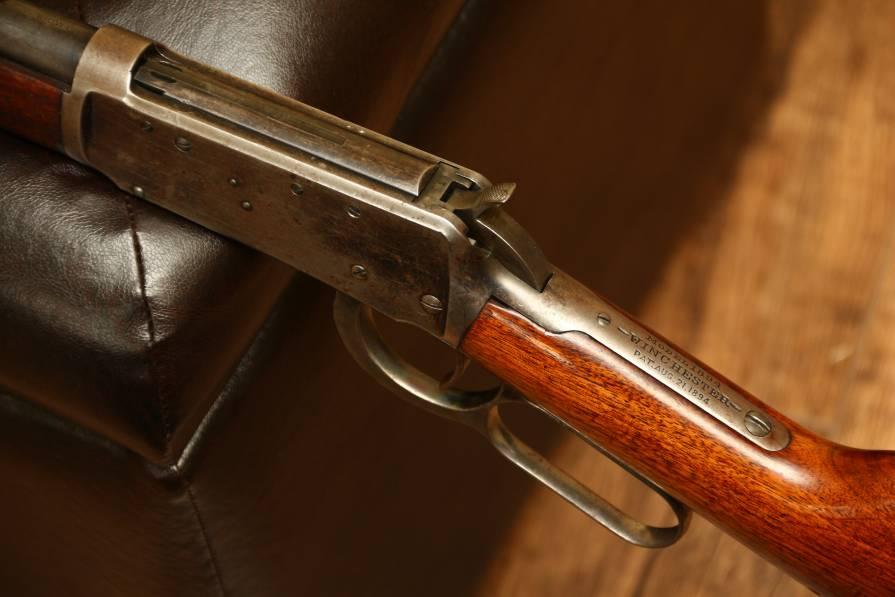 Фото Американский Winchester 1894, №96505, 1896 год выпуска