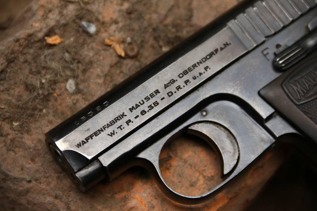 Фото Жилетный пистолет 6.35 Mauser W.T.P. #15393 «1-ая модель»
