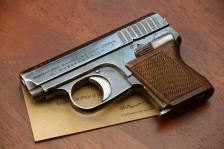 Жилетный пистолет 6.35 Mauser W.T.P. #9634 «1-ая модель»