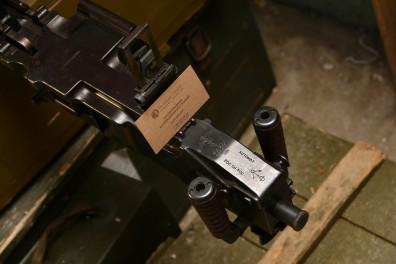 Станковый пулемет ZB vz. 37 #13222 с клеймом немецкой приемки