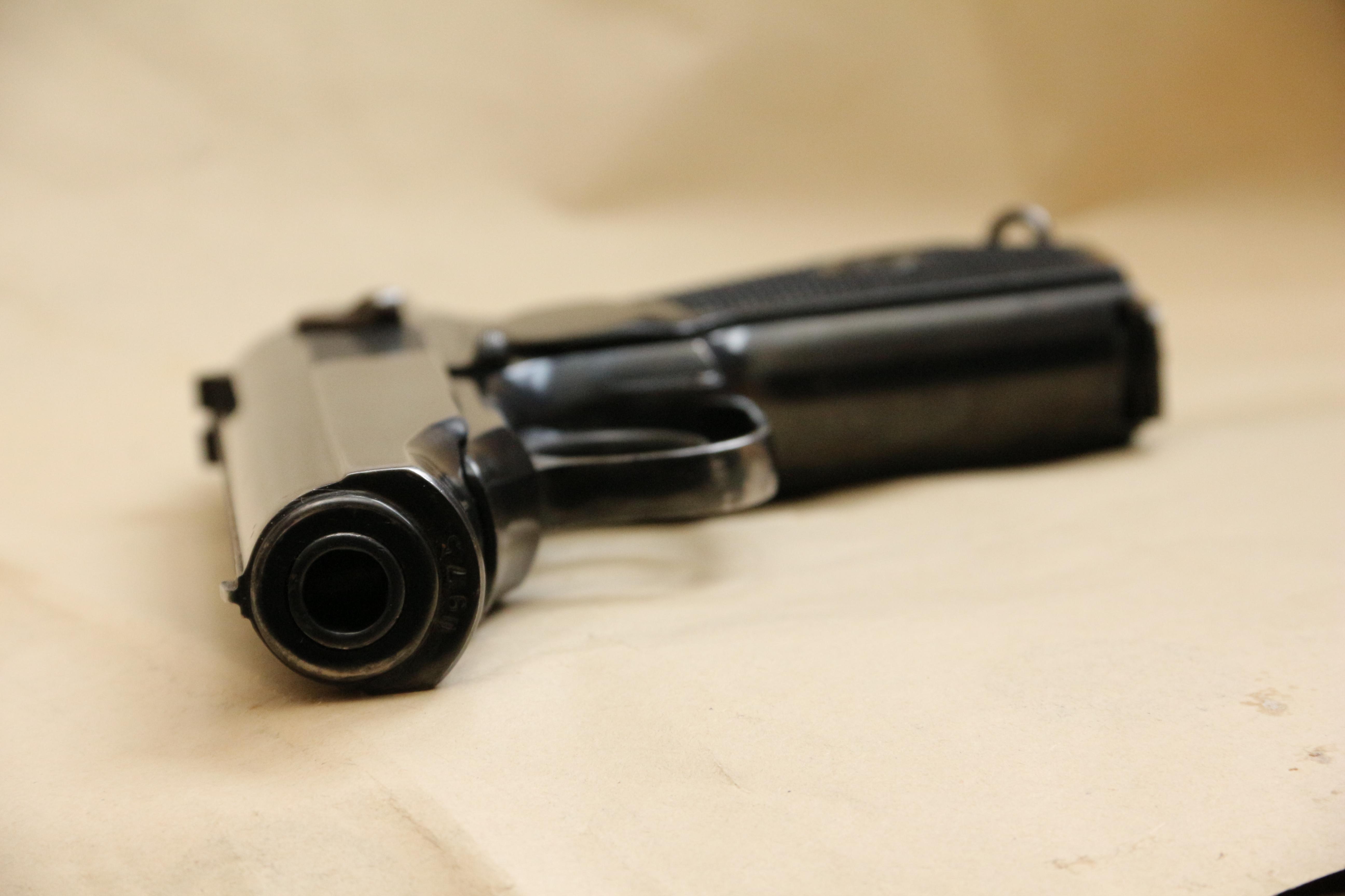Фото Охолощенный пистолет Макарова ПМ-О 1949 года №МП975