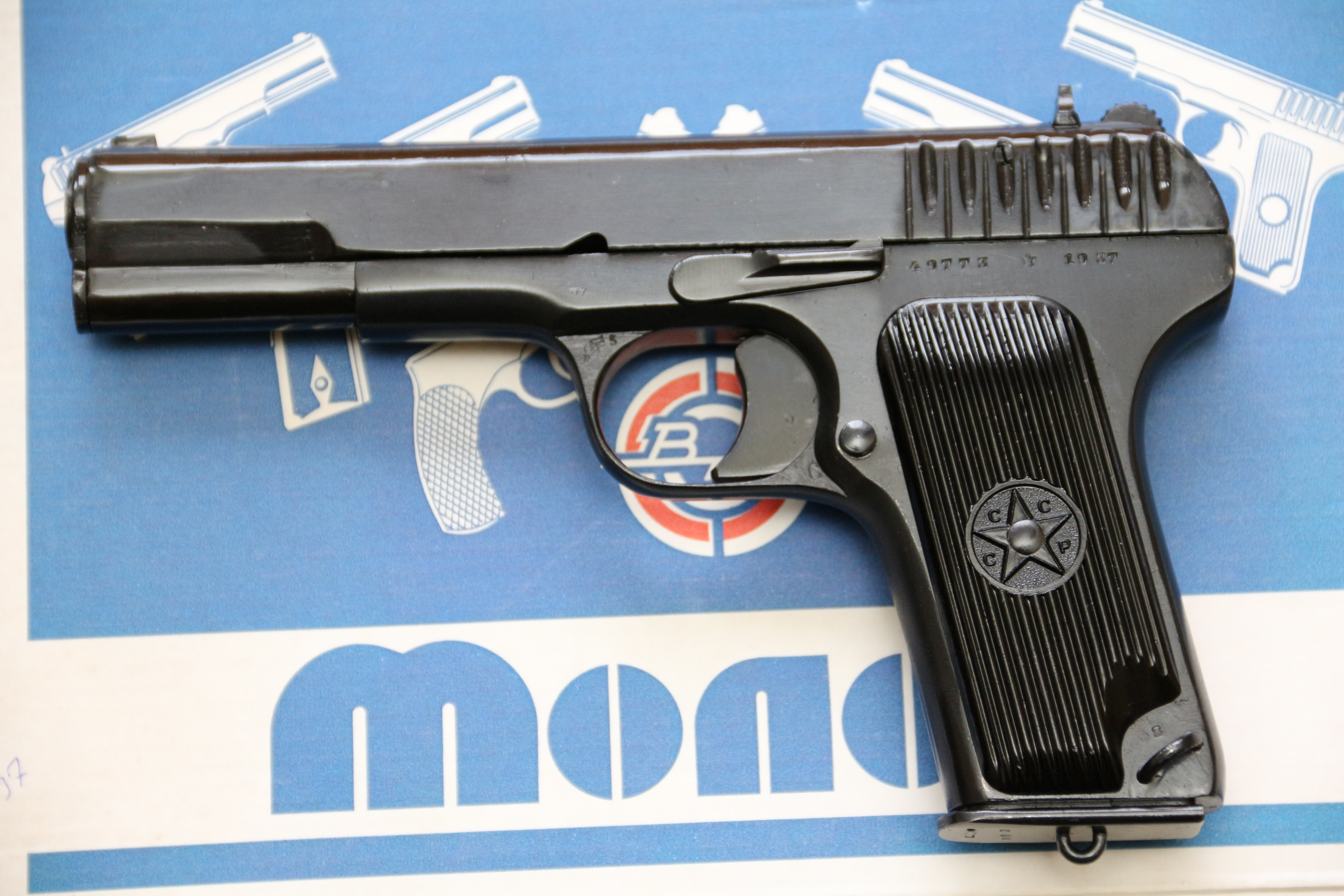 Фото Сигнальный пистолет ТТ-С 1937 года №49773