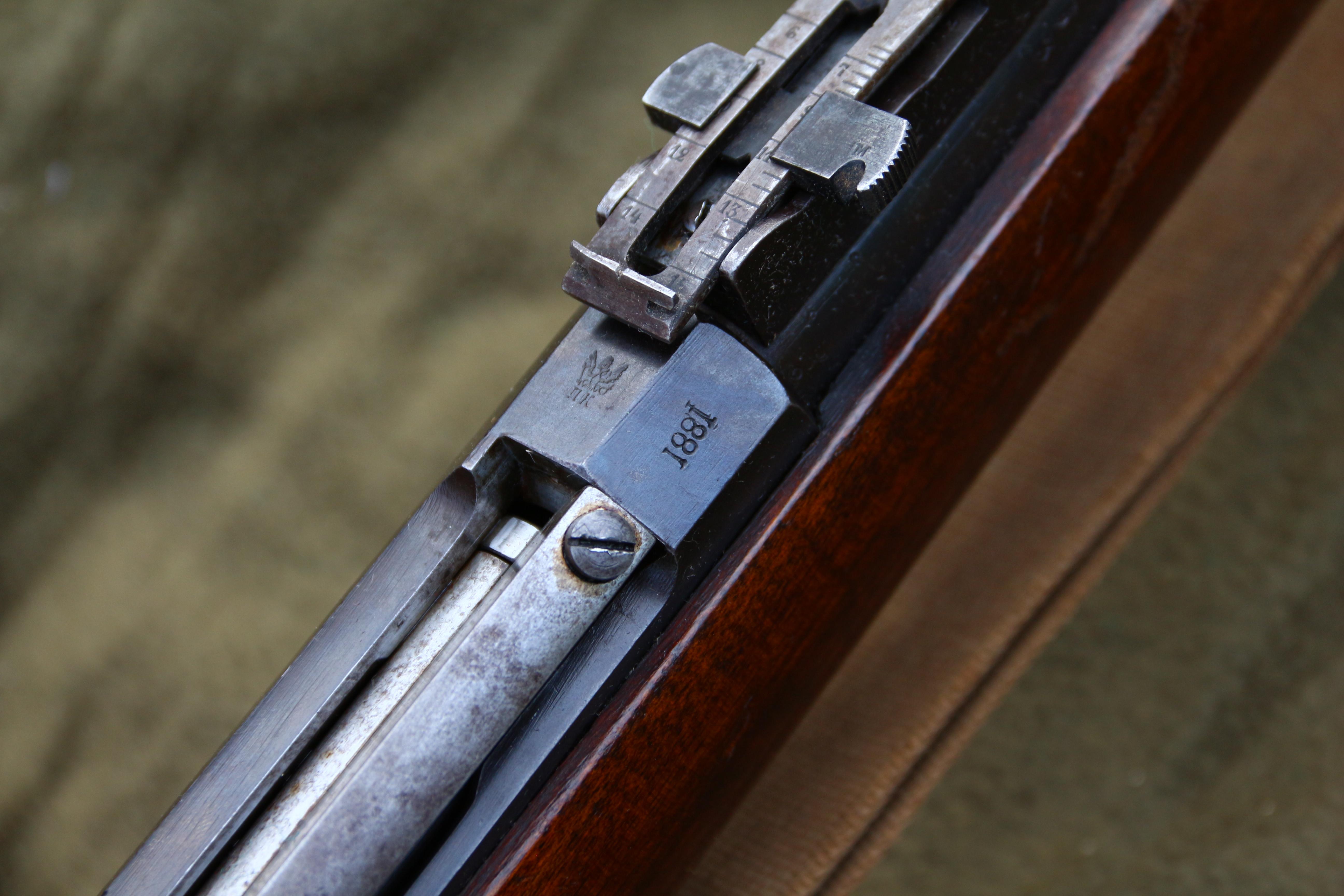 Фото Царская винтовка Бердан 2 №6822 с родным штыком