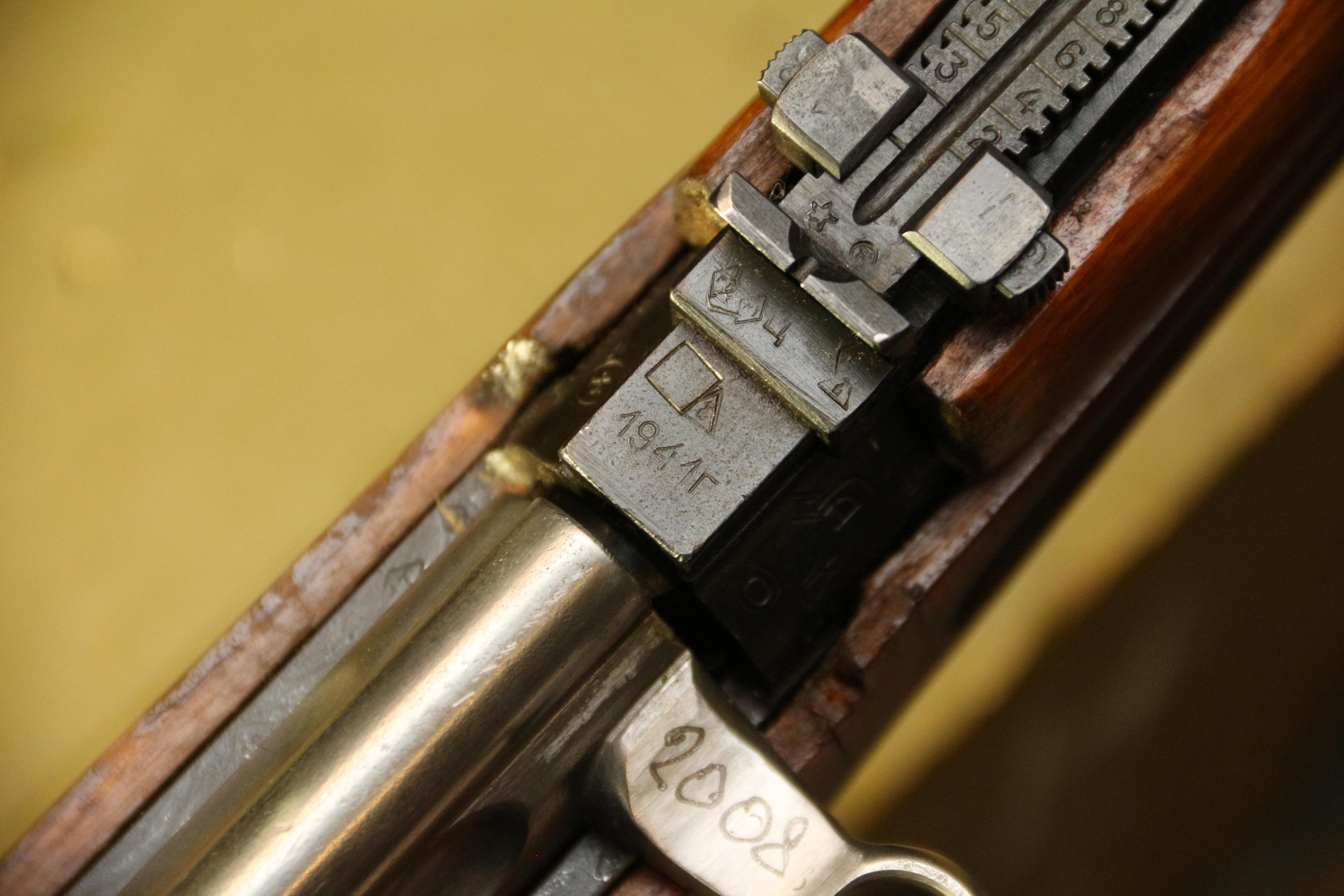 Самозарядная винтовка Токарева СВТ-40 1941 года №ЕИ2008