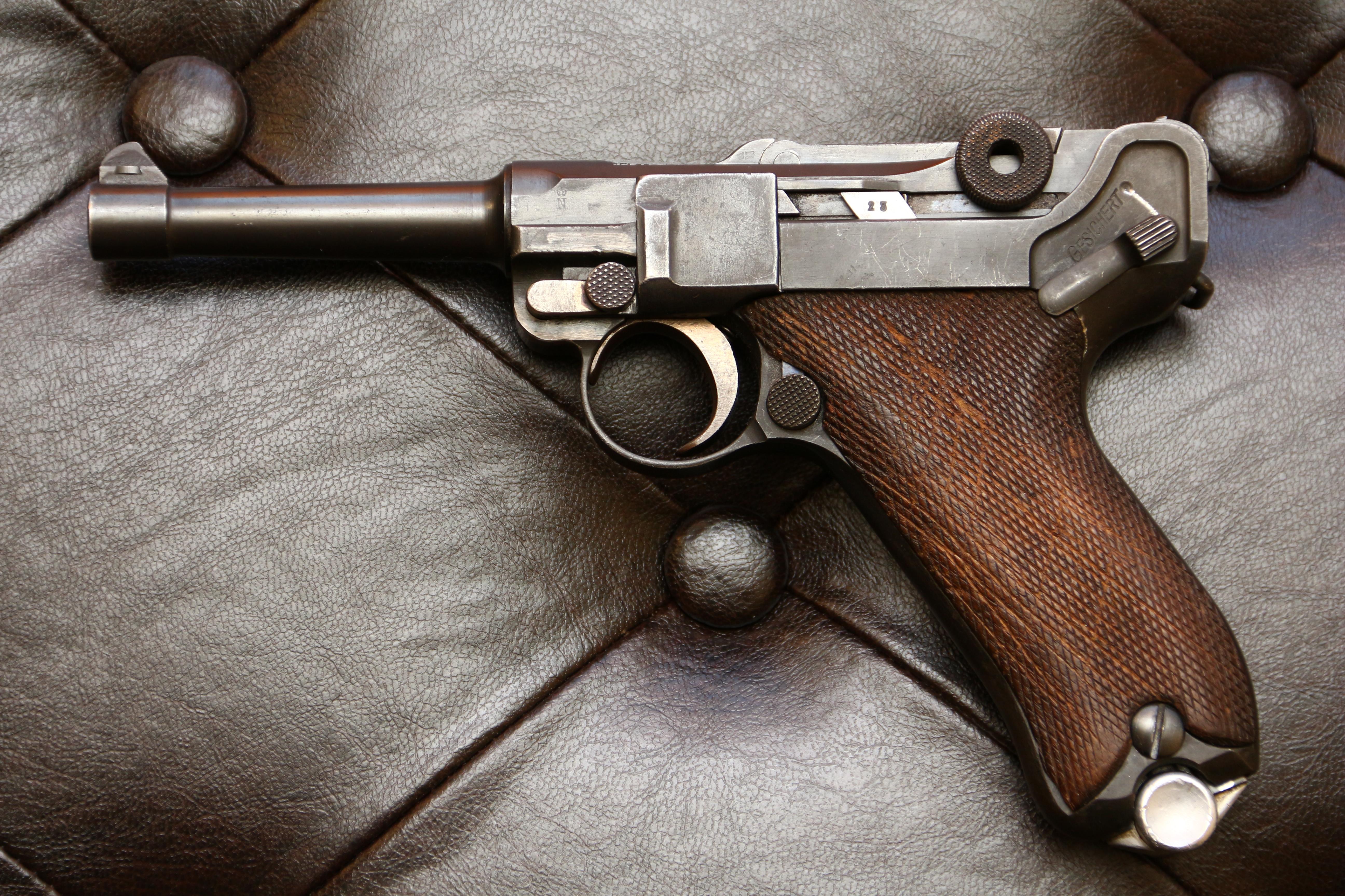 Фото Пистолет Люгер Парабеллум P-08, №6299, коммерческий вариант