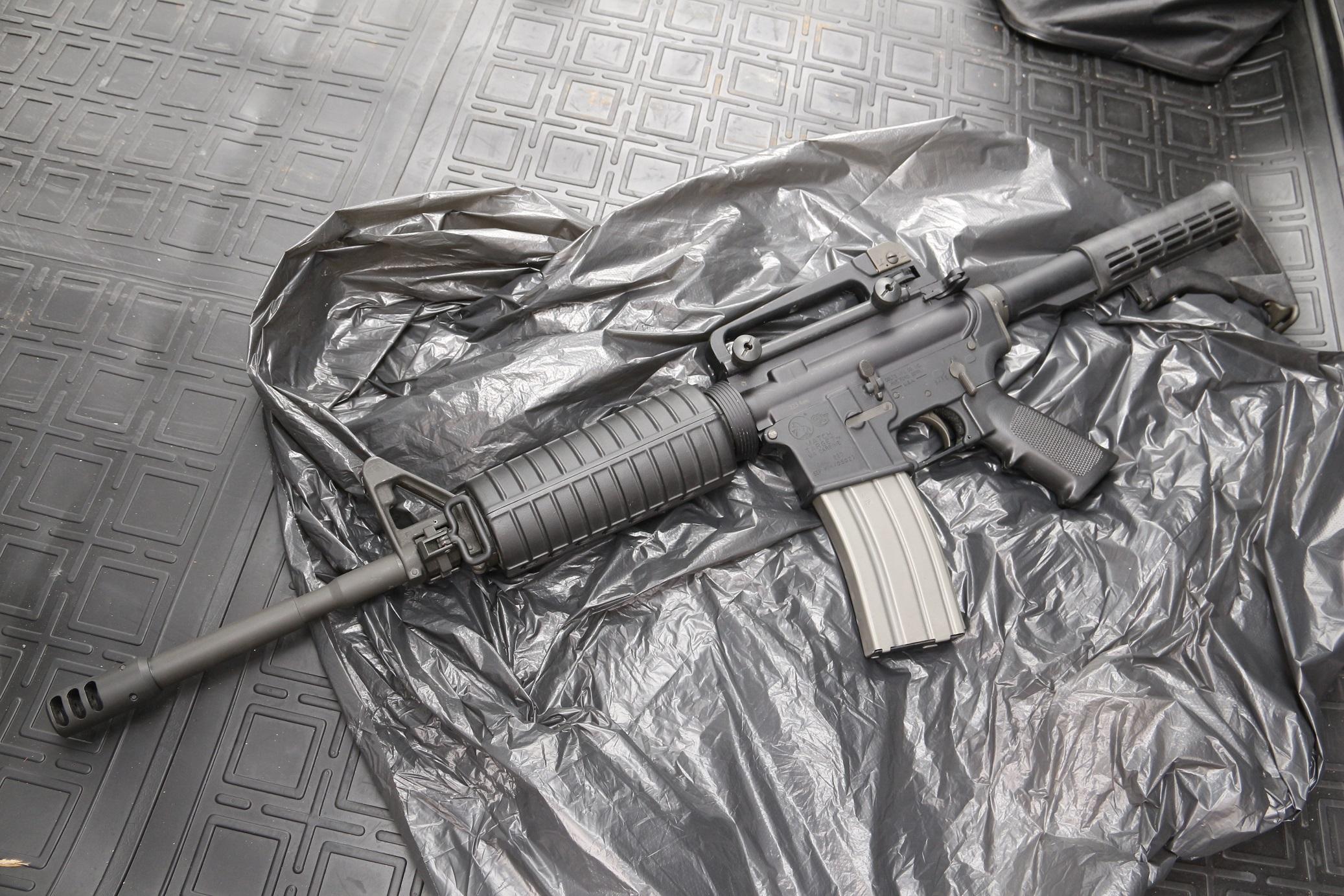 Американская винтовка Carbine M4 Colt #405021, редкость