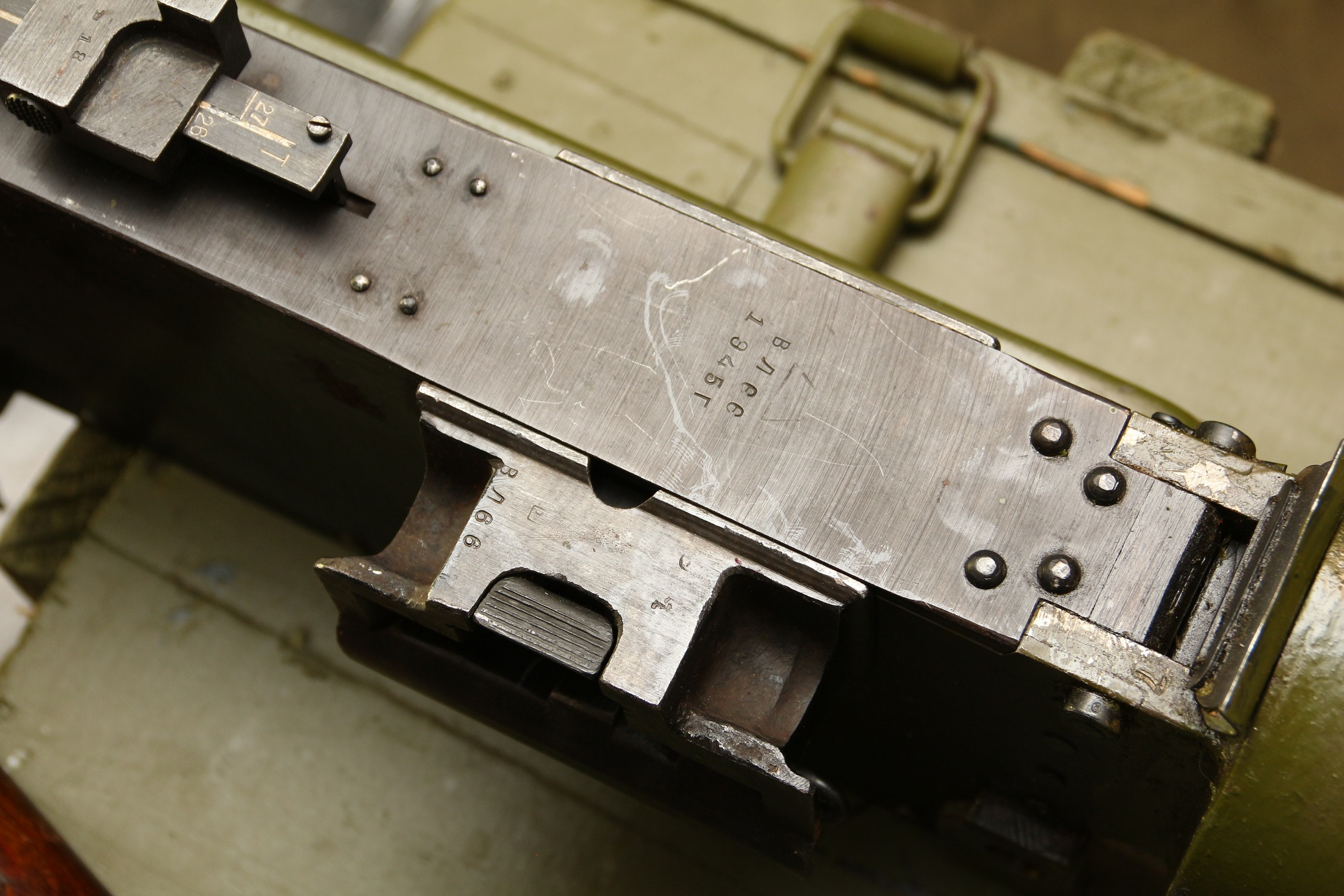 Предзаказ: охолощенный пулемет Максим 1945 года №ВЛ 66, станок Соколова, заводской
