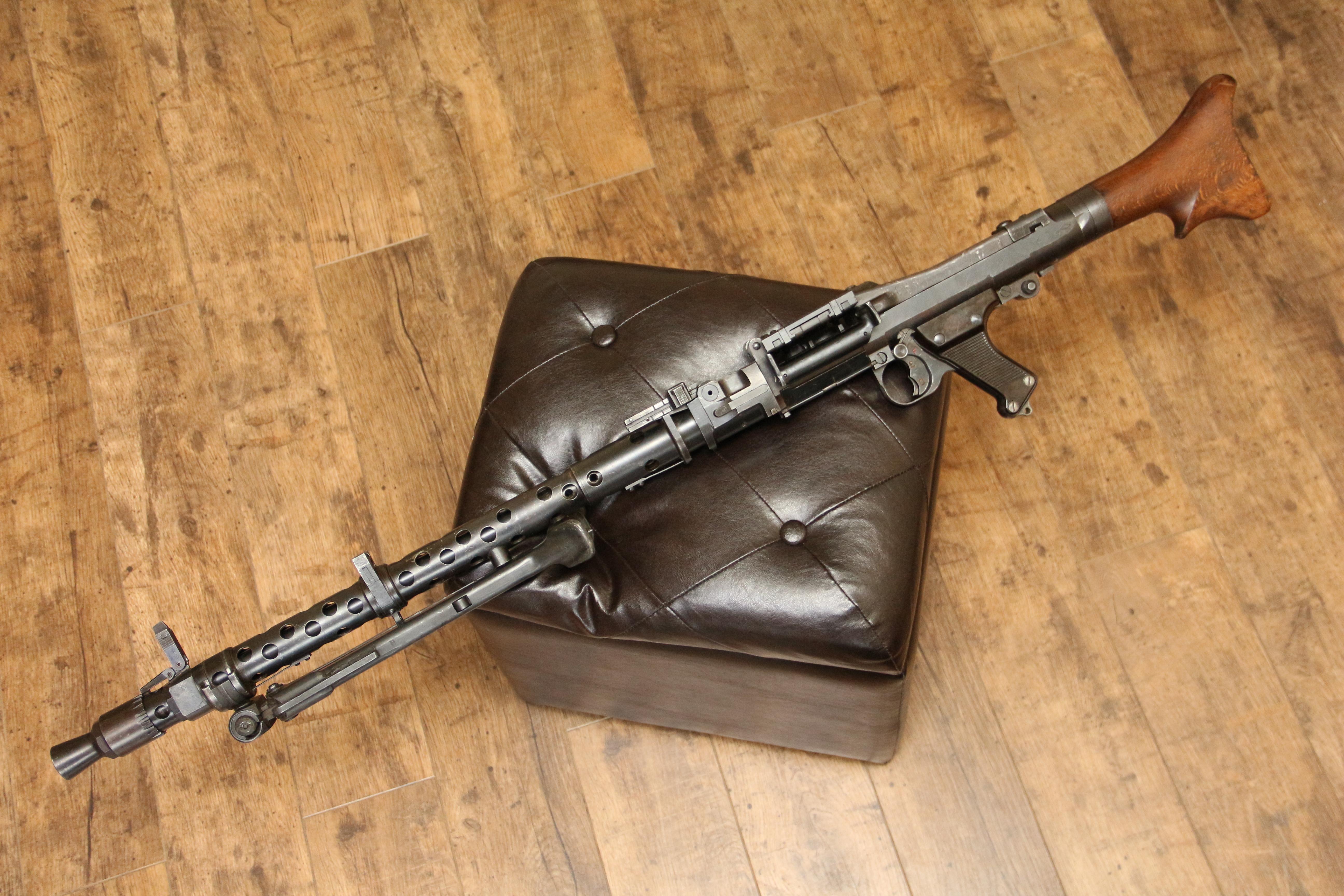 Немецкий пулемет MG-34, 1943 год, завод ar Mauser-Werke AG, #0358