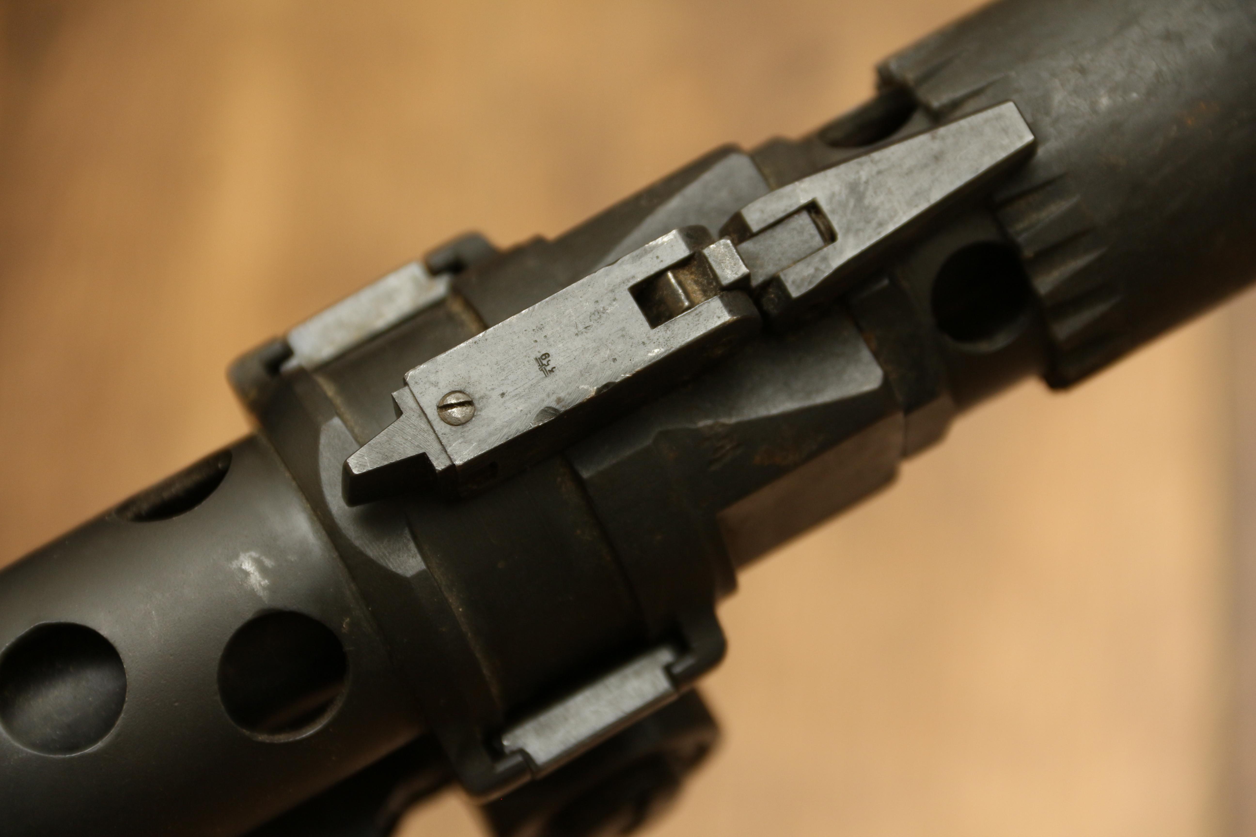 Фото Немецкий пулемет MG-34, #4568, 1942 год, dfb Gustloff-Werke (Suhl)
