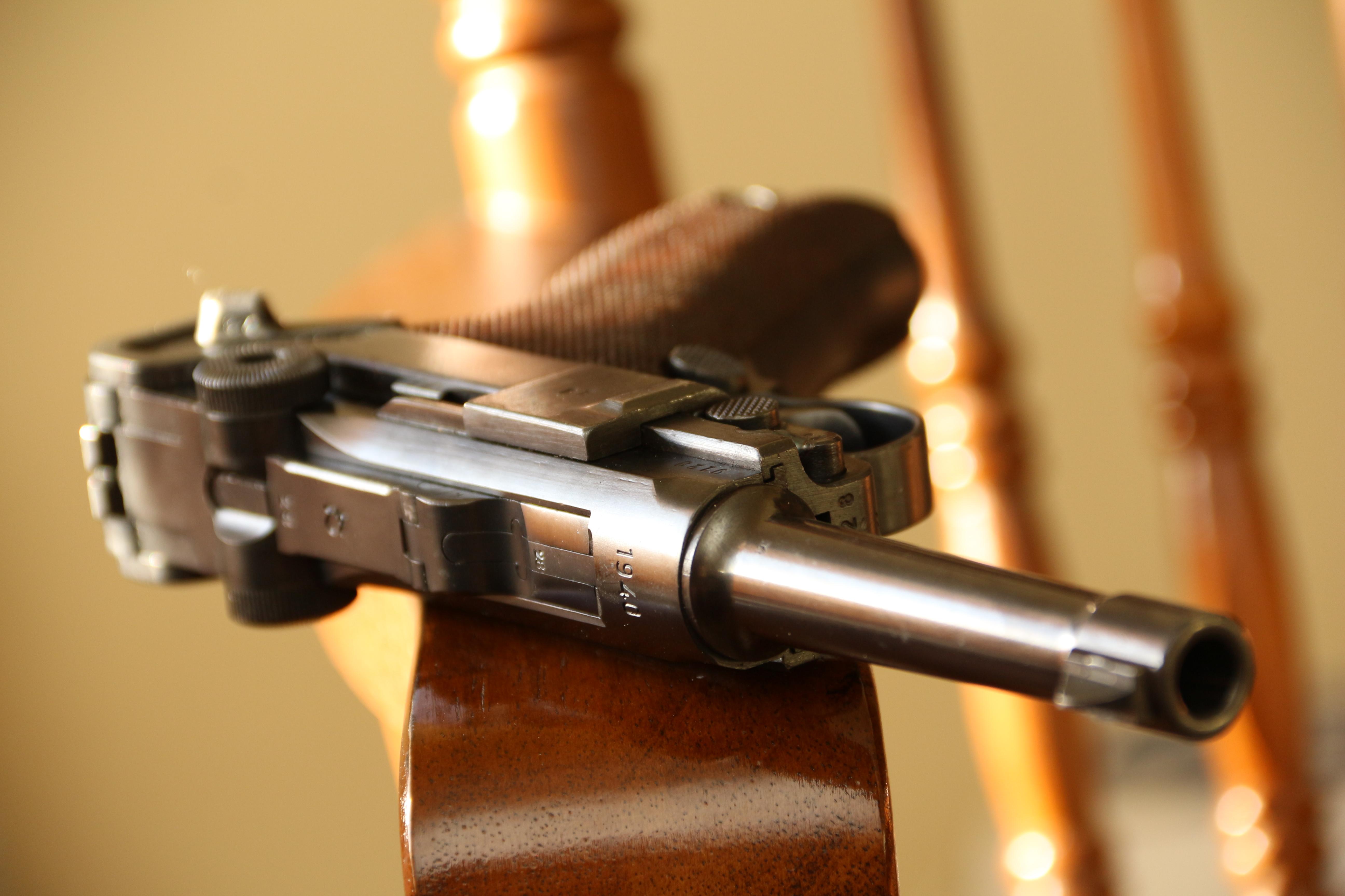 Пистолет Люгер Парабеллум P-08 #9128, выпуск 1940 года, люкс