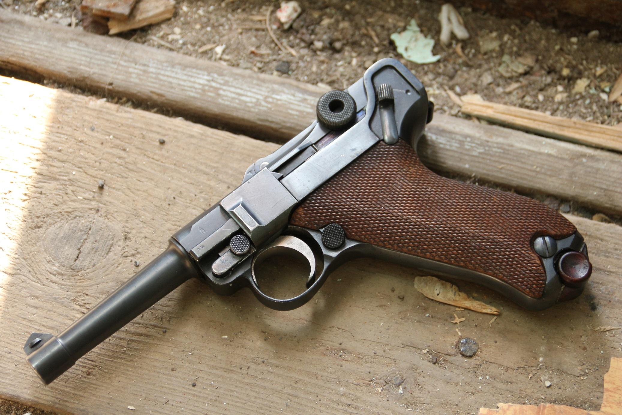 Фото Пистолет Люгер Парабеллум P-08, №2849, коммерческий вариант