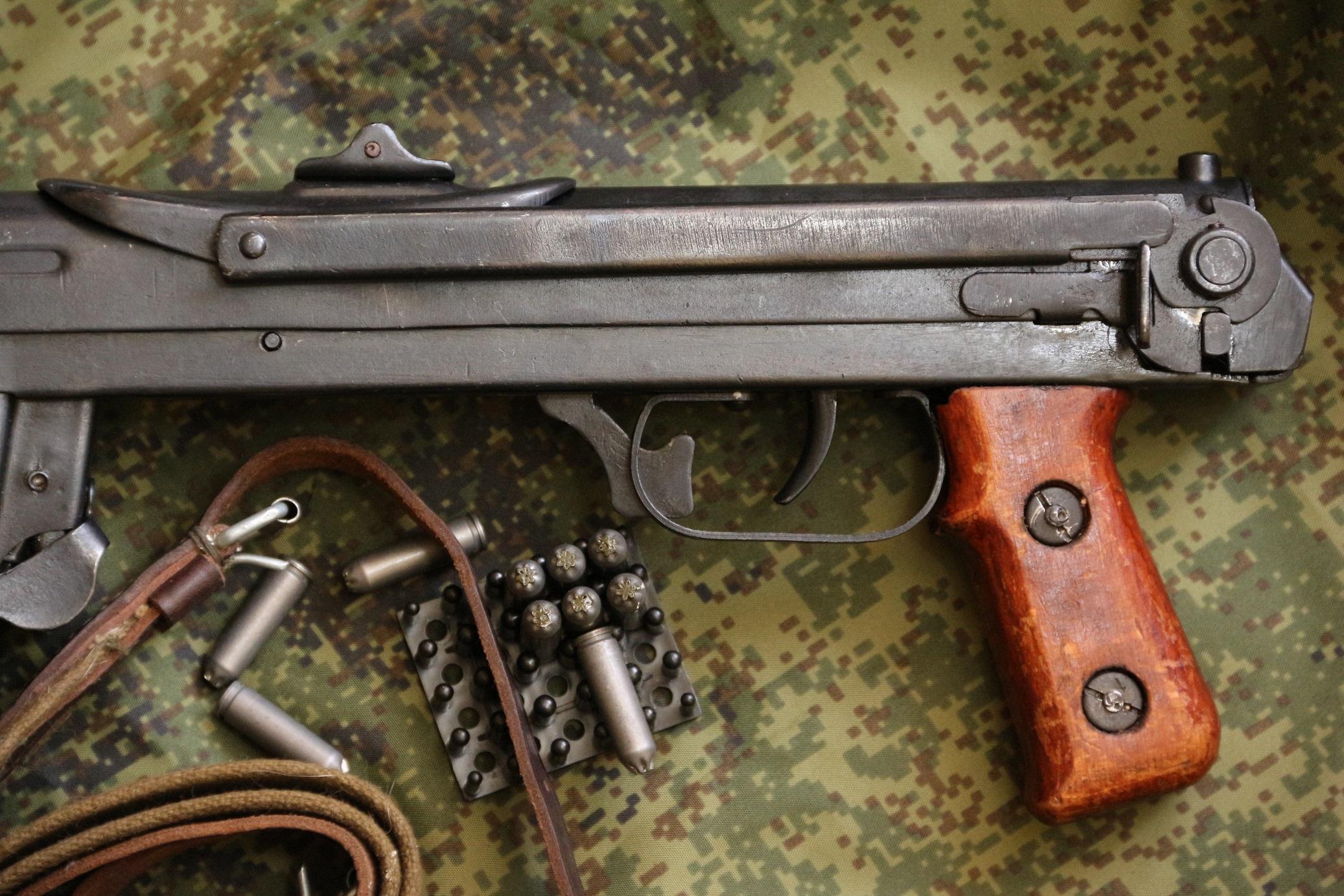Охолощенный ППС-ОХ 1943 года №951, блокадный завод им. Кулакова, Ленинград