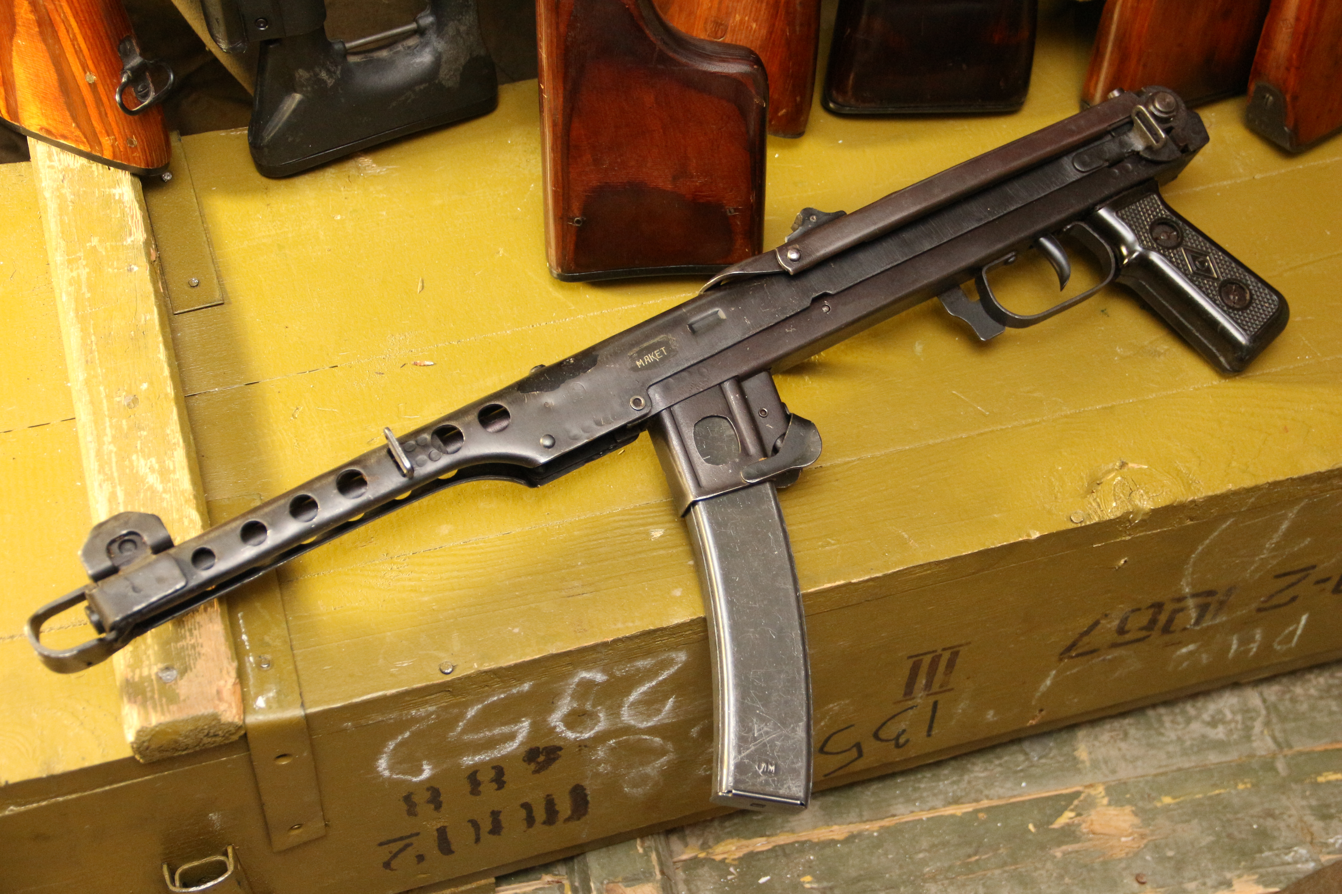 Пистолет-пулемет ППС 1944 год, №АЯ341