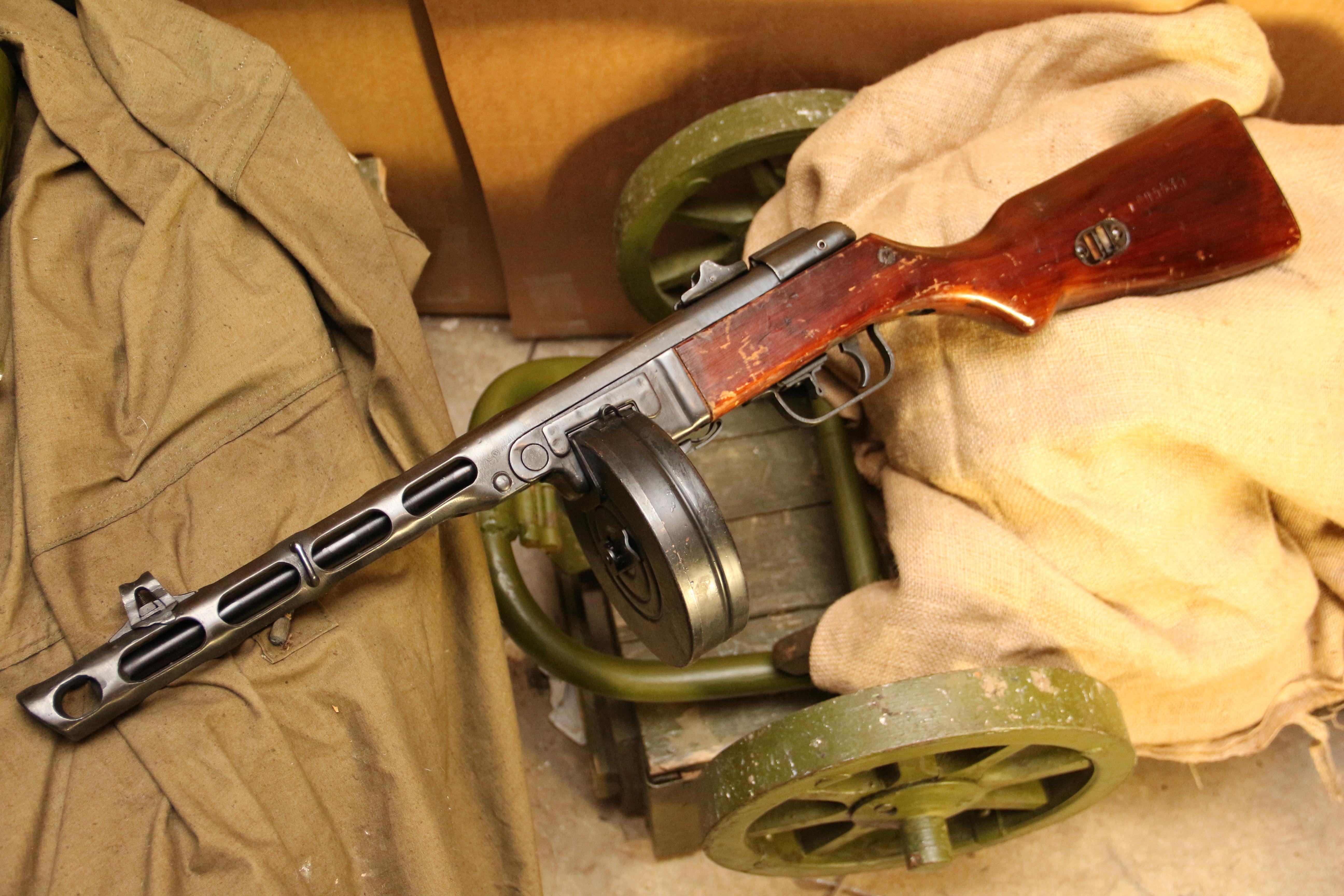 Охолощенный ППШ-СХ 1942 года №ДО535