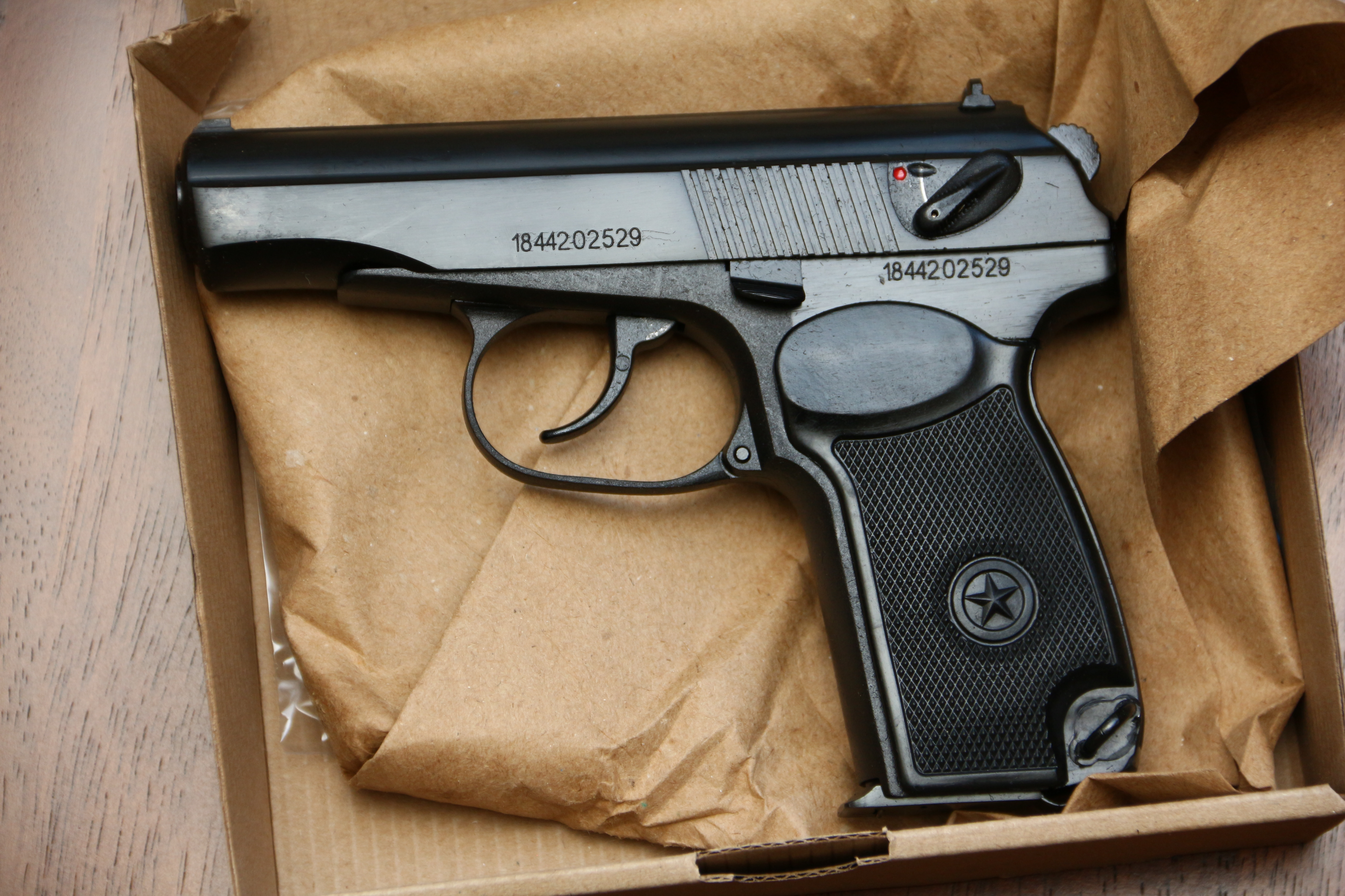 Охолощенный пистолет Макарова Р-411 №1844202529