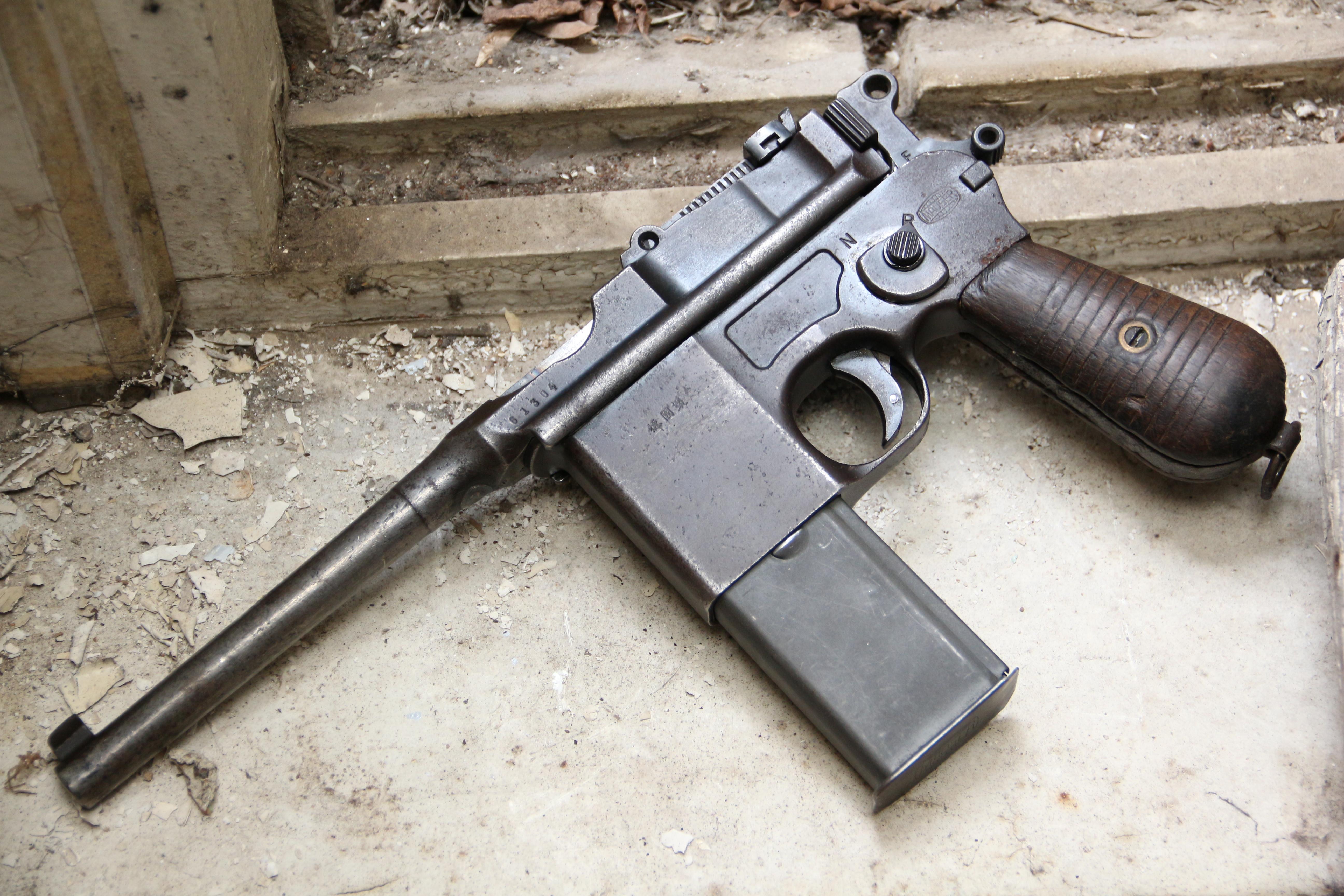 Фото Пистолет Mauser M712 Shnellfeuer #61304