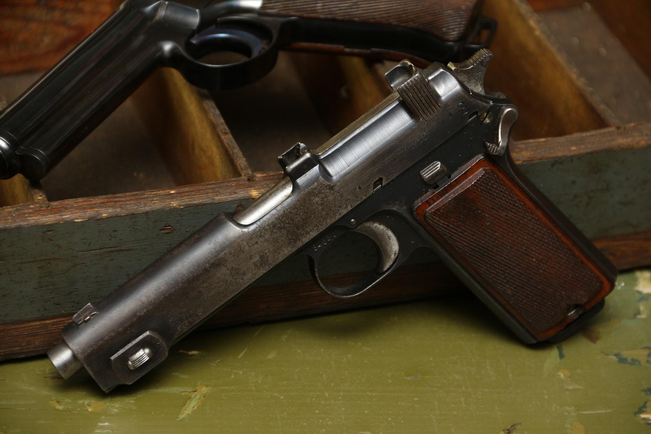 Фото Австрийский пистолет Steyr M1912 #3468j, 1915 год