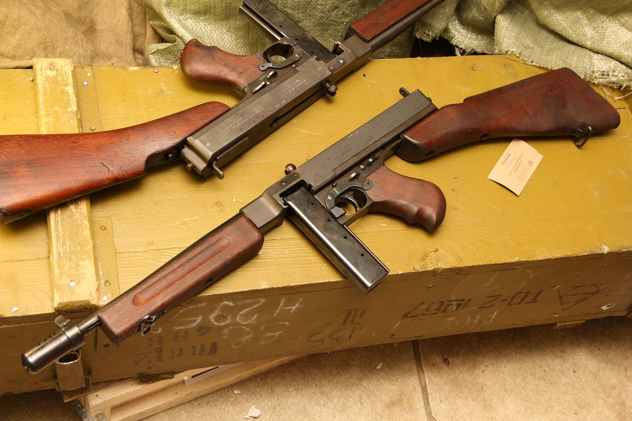 Пистолет-пулемет Томпсон 1928а1 №495222