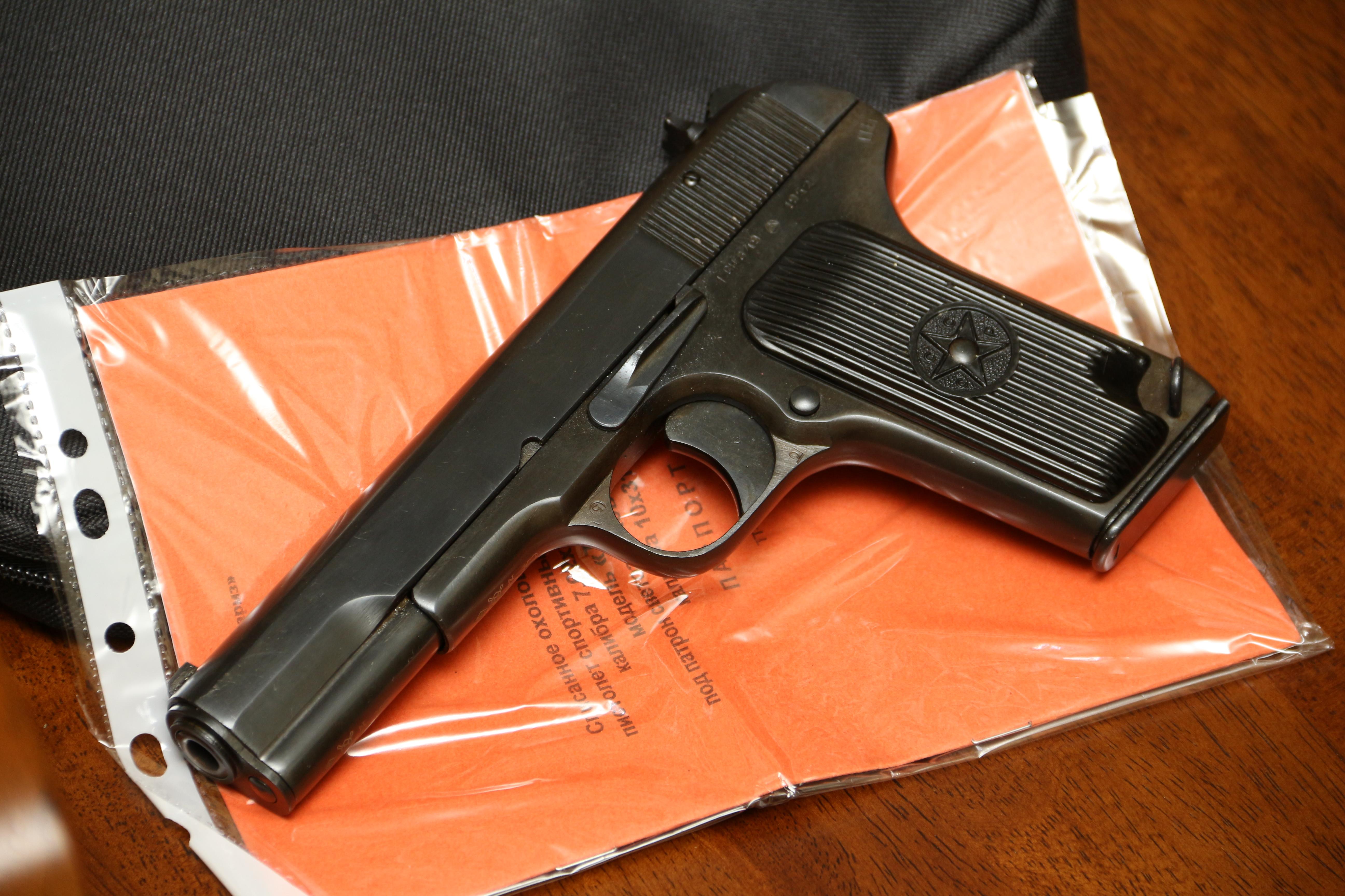 Фото Охолощенный пистолет ТТ-СХ 1952 года, №ВН249