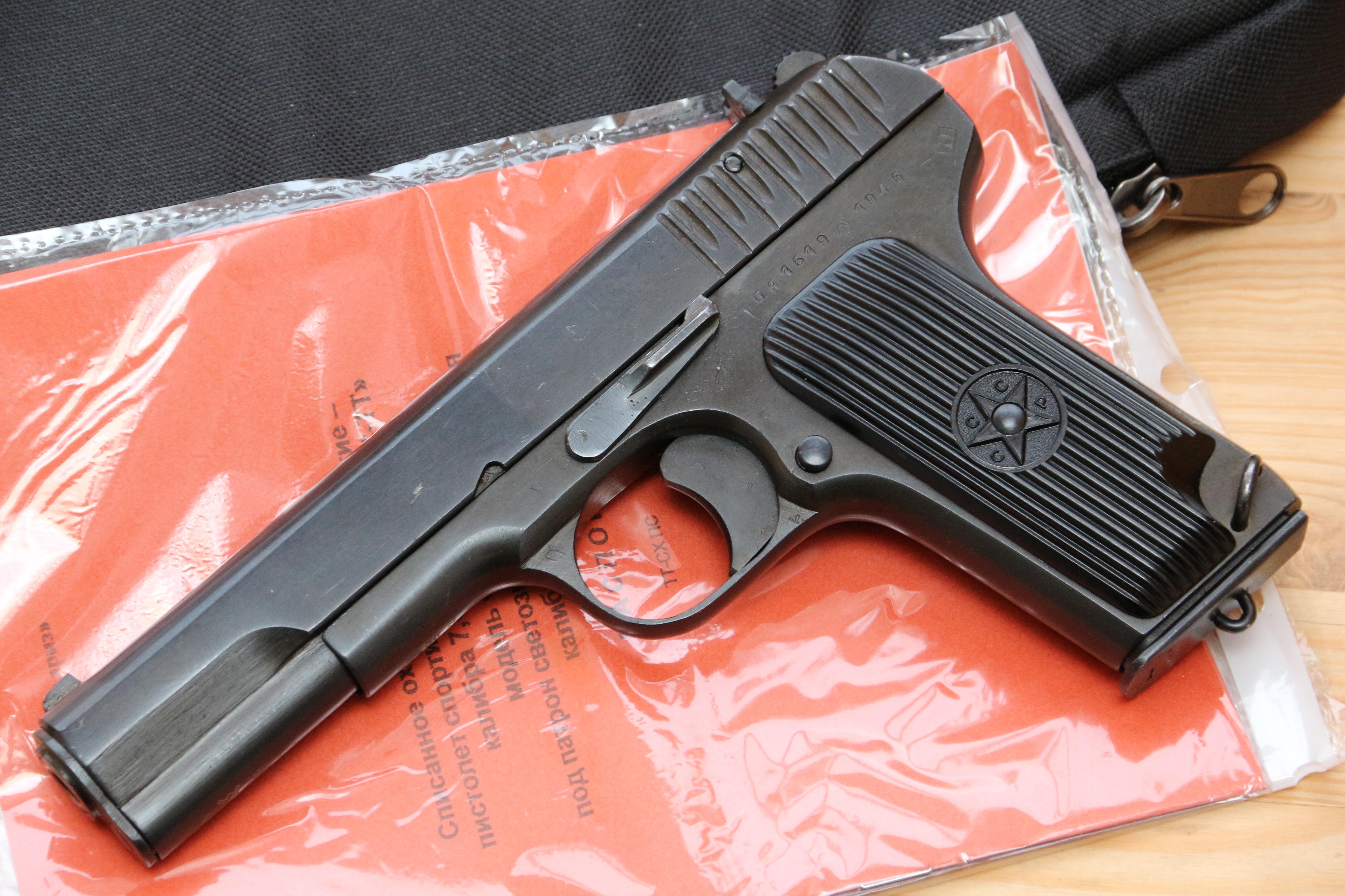 Фото Охолощенный пистолет ТТ-СХ 1946 года №ОА1619