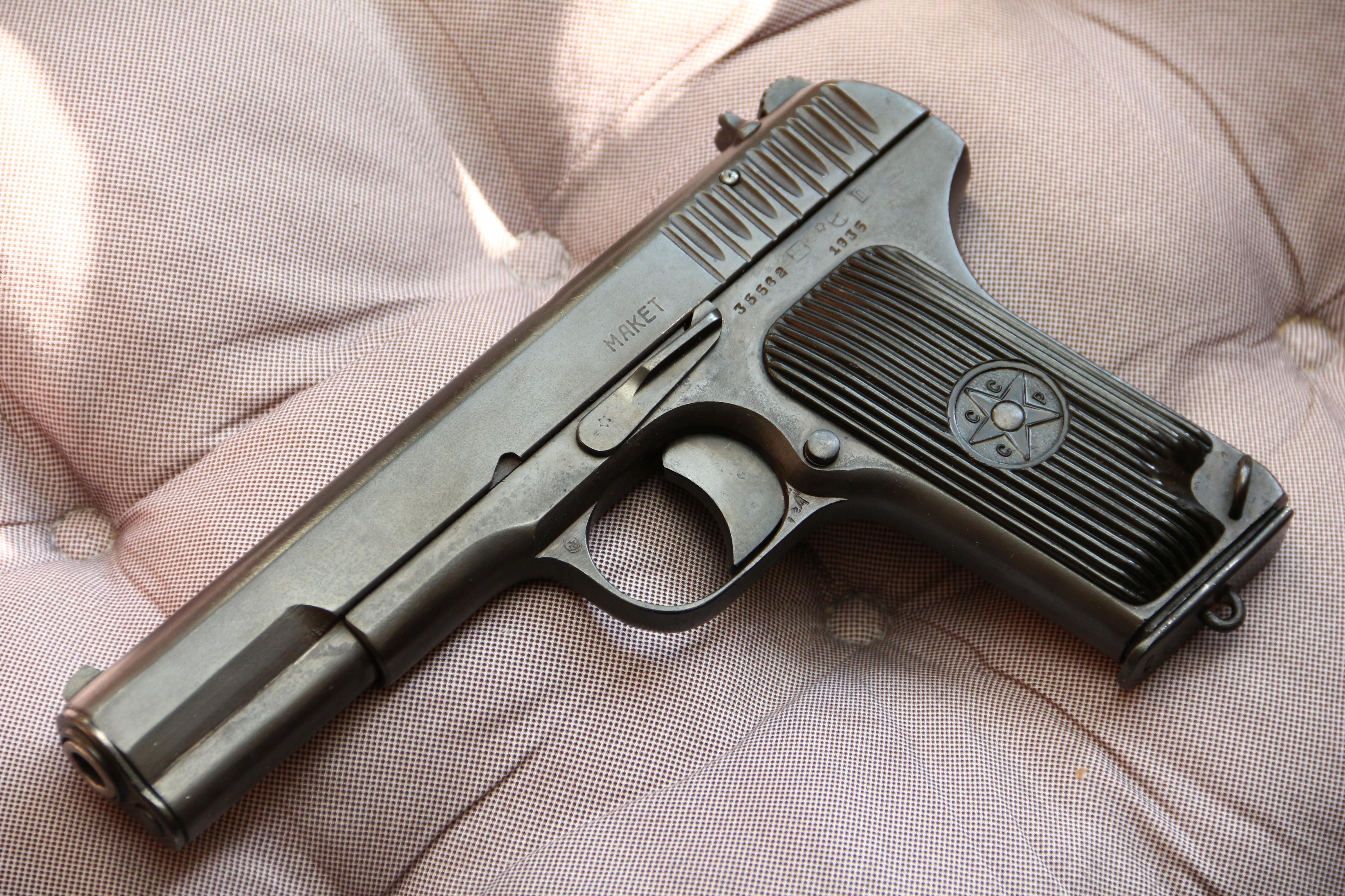 Фото Пистолет ТТ 1935 года №35562