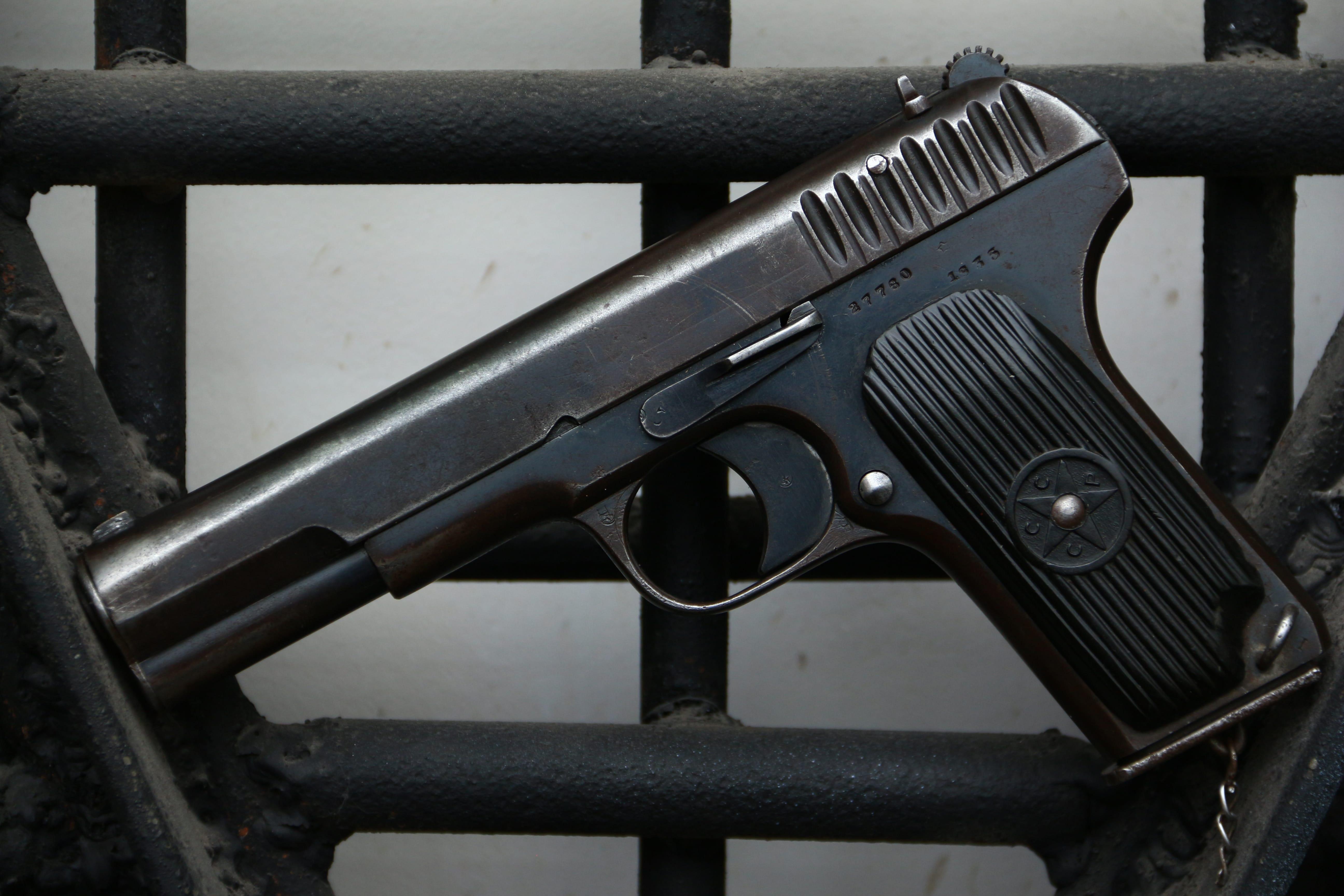 Охолощенный пистолет ТТ-30 1935 года №27760
