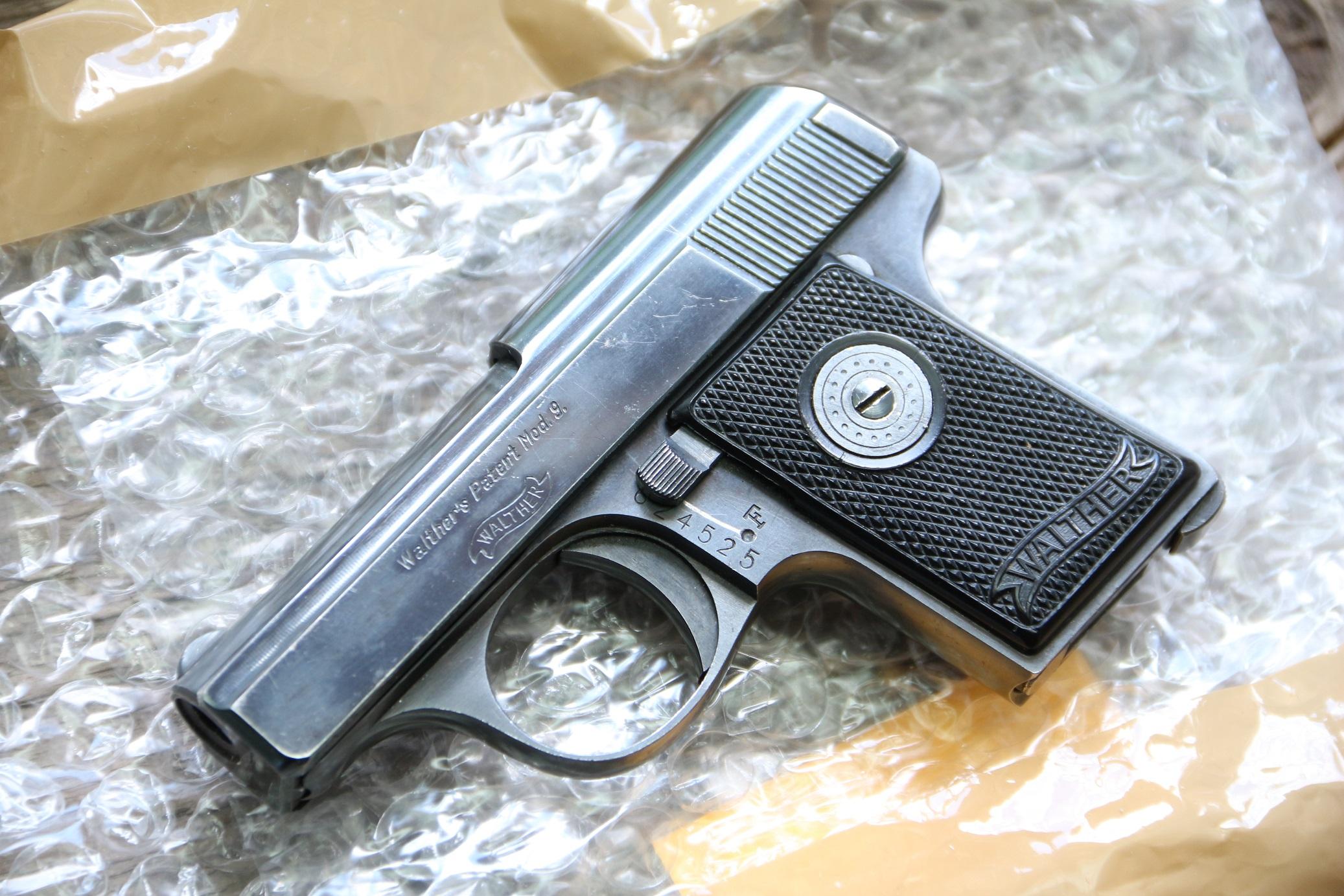 Жилетный пистолет Walther model 9 #624525