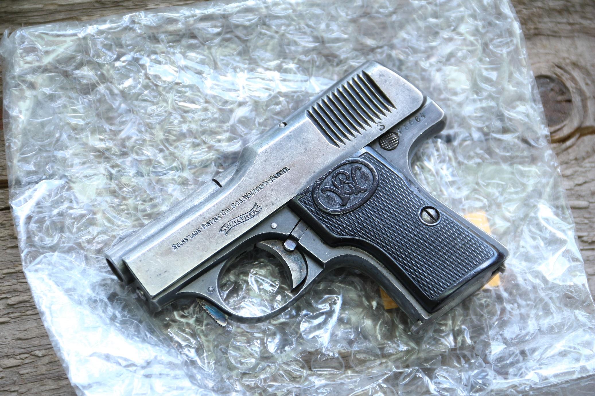 Жилетный пистолет Walther model 1 №25664
