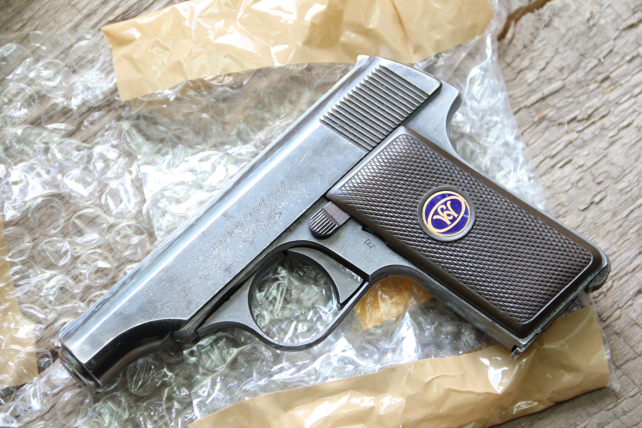 Жилетный пистолет Walther model 8 #403650