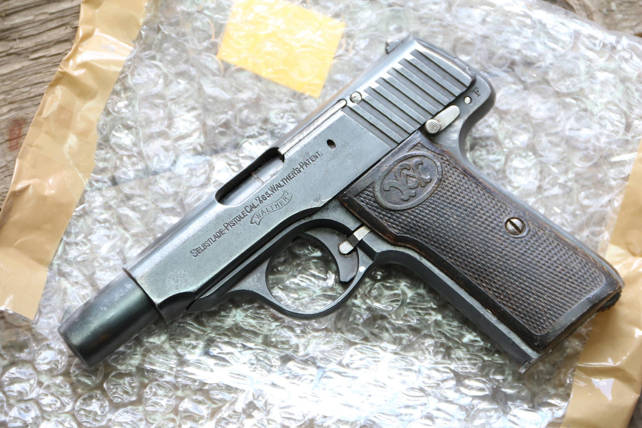 Фото Жилетный пистолет Walther model 4 #189863
