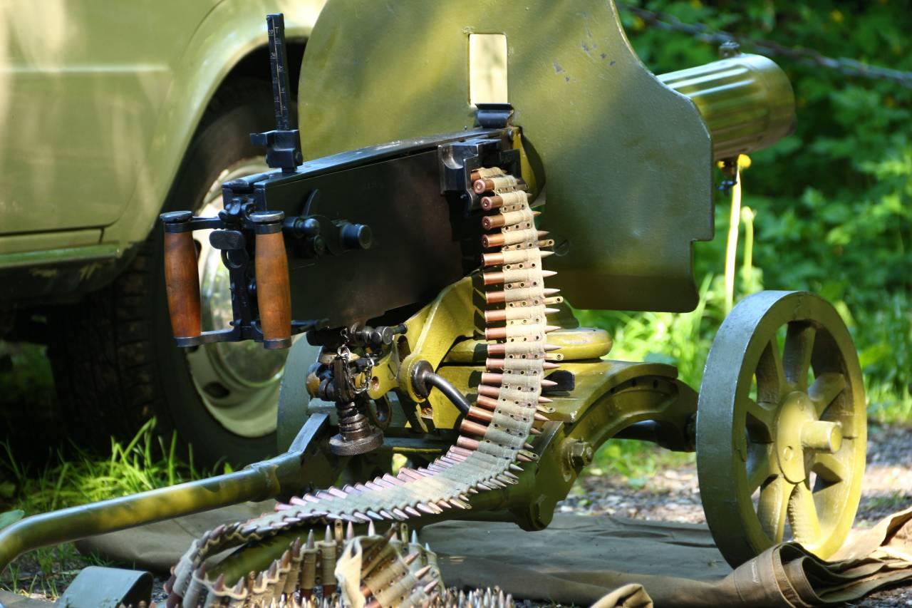 Довоенный пулемет Максим, 1939 год, №234