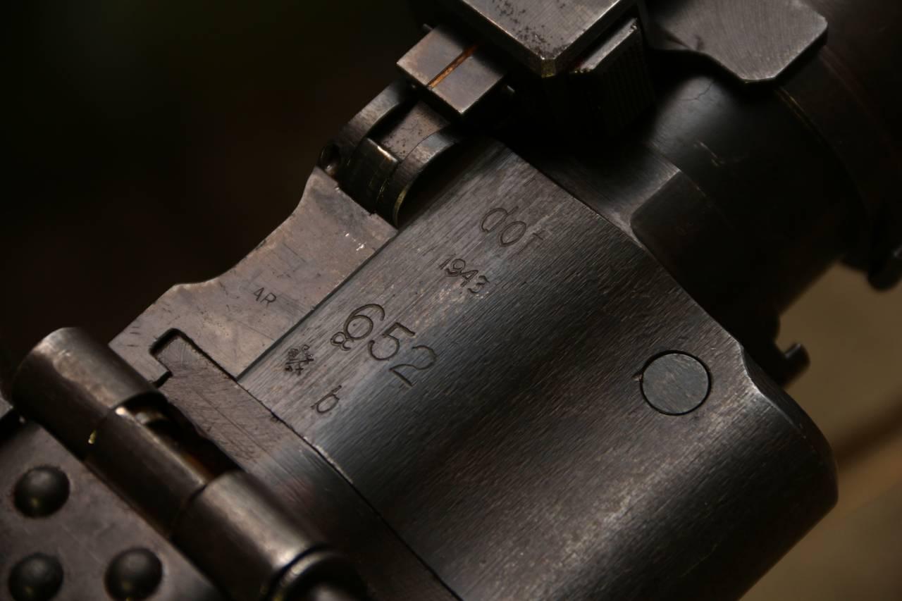 Немецкий пулемет MG-34 1943 652 dot