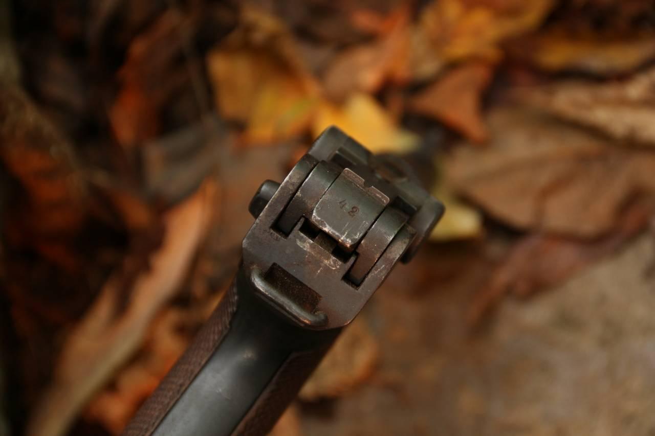 Охолощенный пистолет Парабеллум Parabellum P08