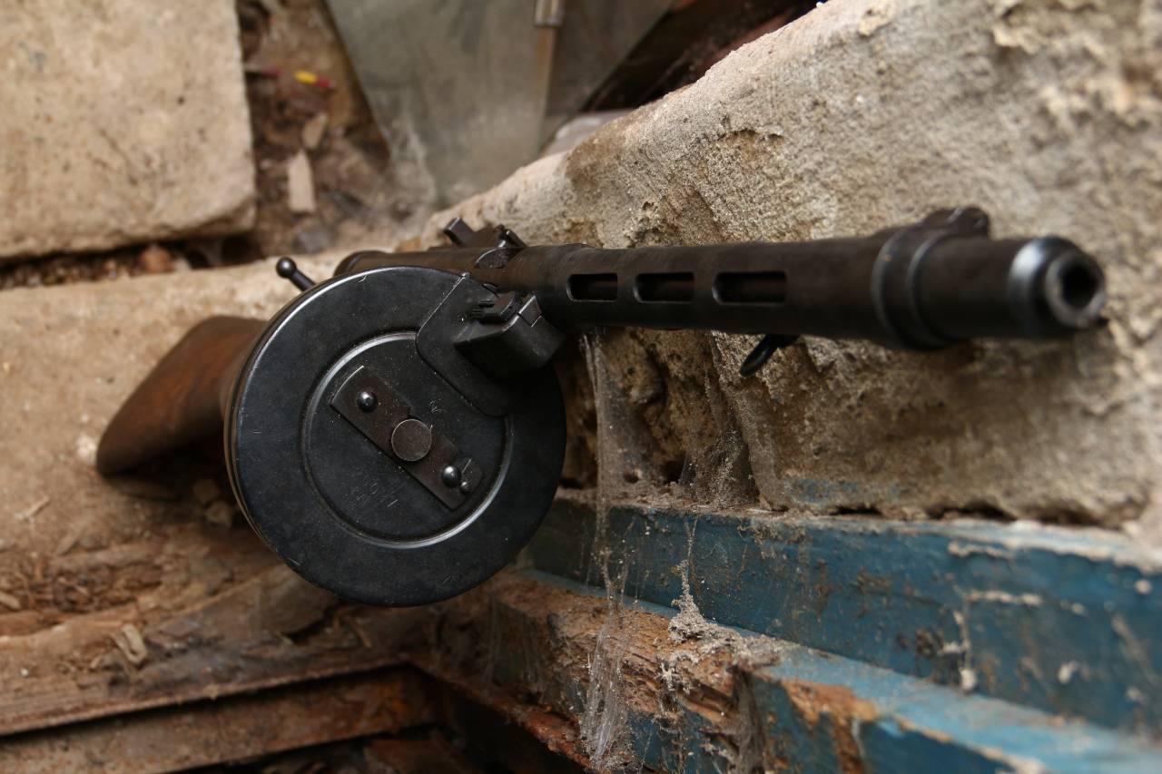 Финский пистолет-пулемет Suomi-konepistooli M/31
