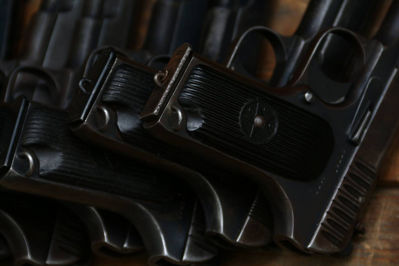 Охолощенные «трофейные» пистолеты ТТ