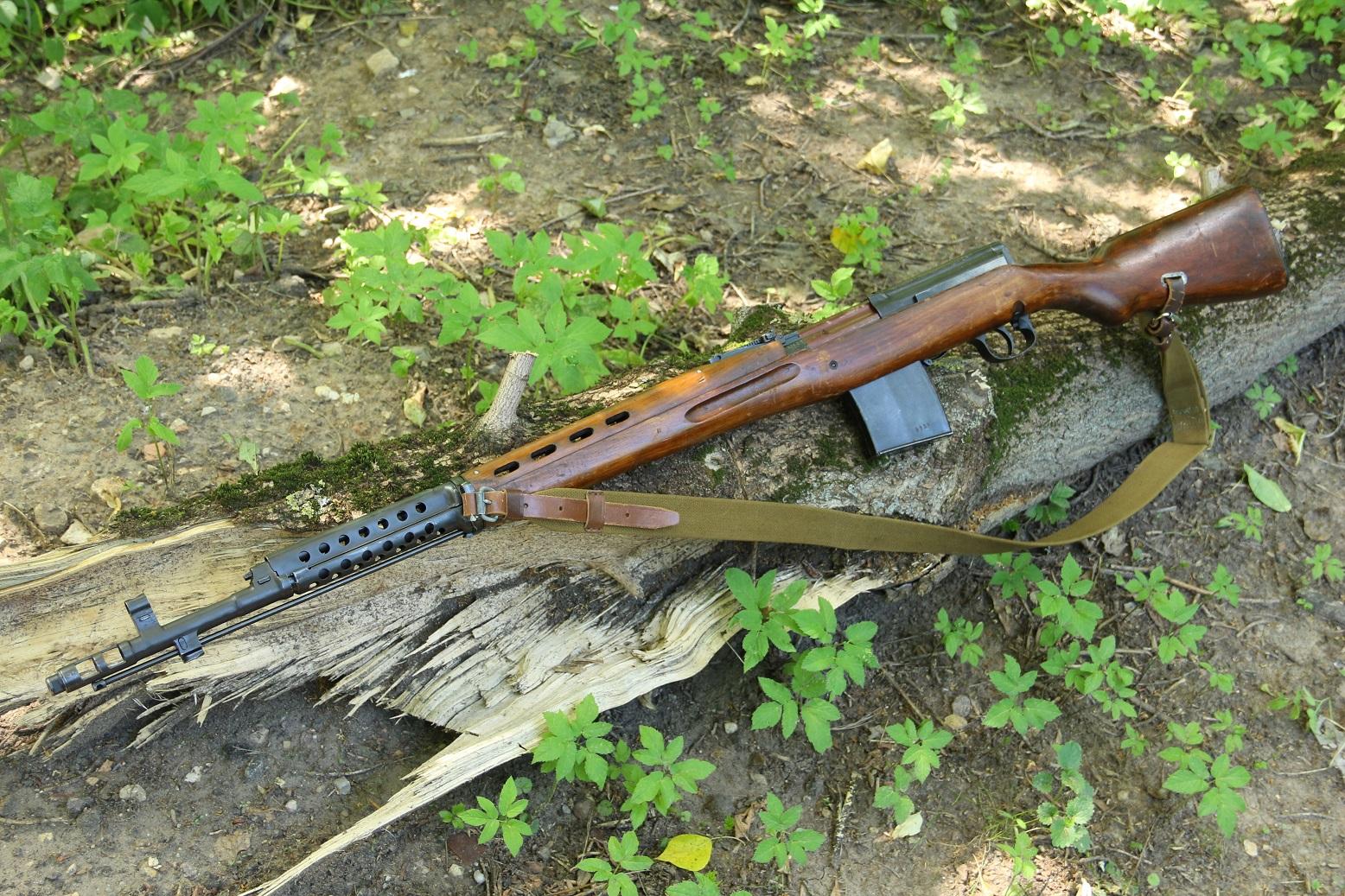Охолощенная винтовка Токарева АВТ-44 №ХА3932