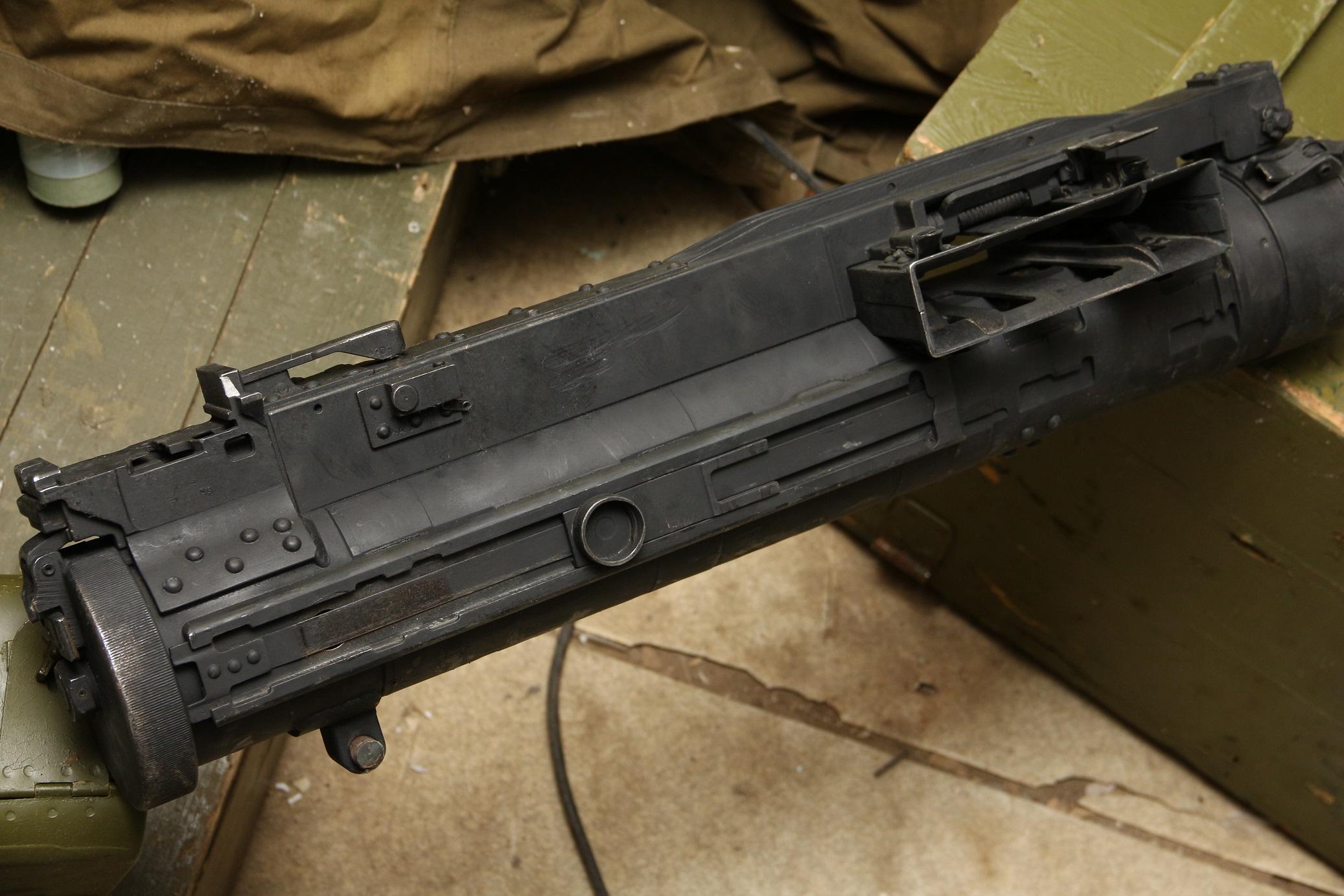 Крупнокалиберный пулемёт Владимирова КПВТ №УЧ496, учебный
