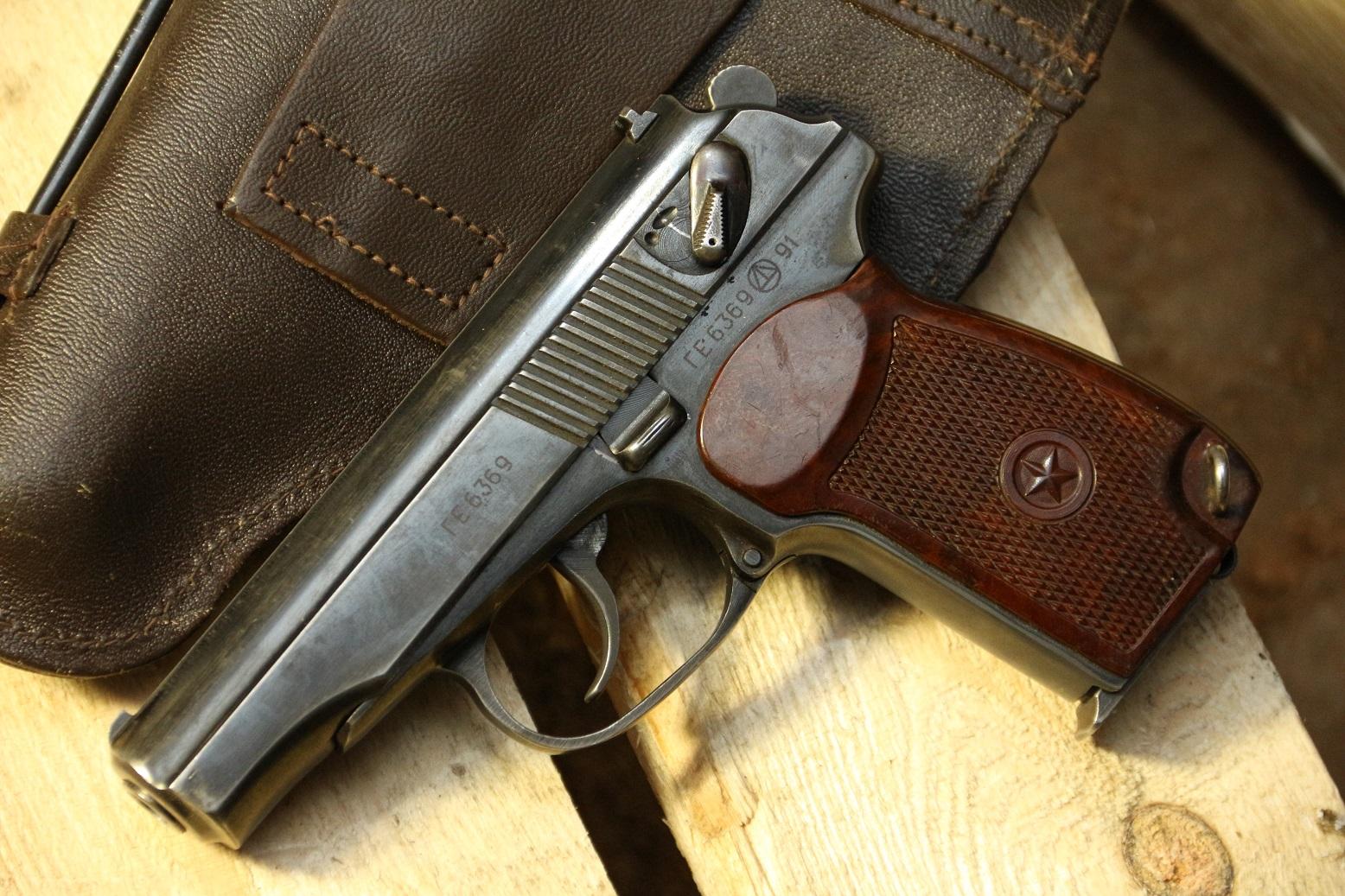 Фото Пистолет Макарова 1991 года, №ГЕ6369