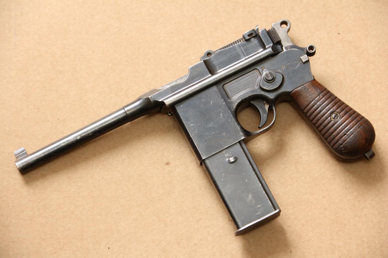 Mauser Schnellfeuer model 712 #74457