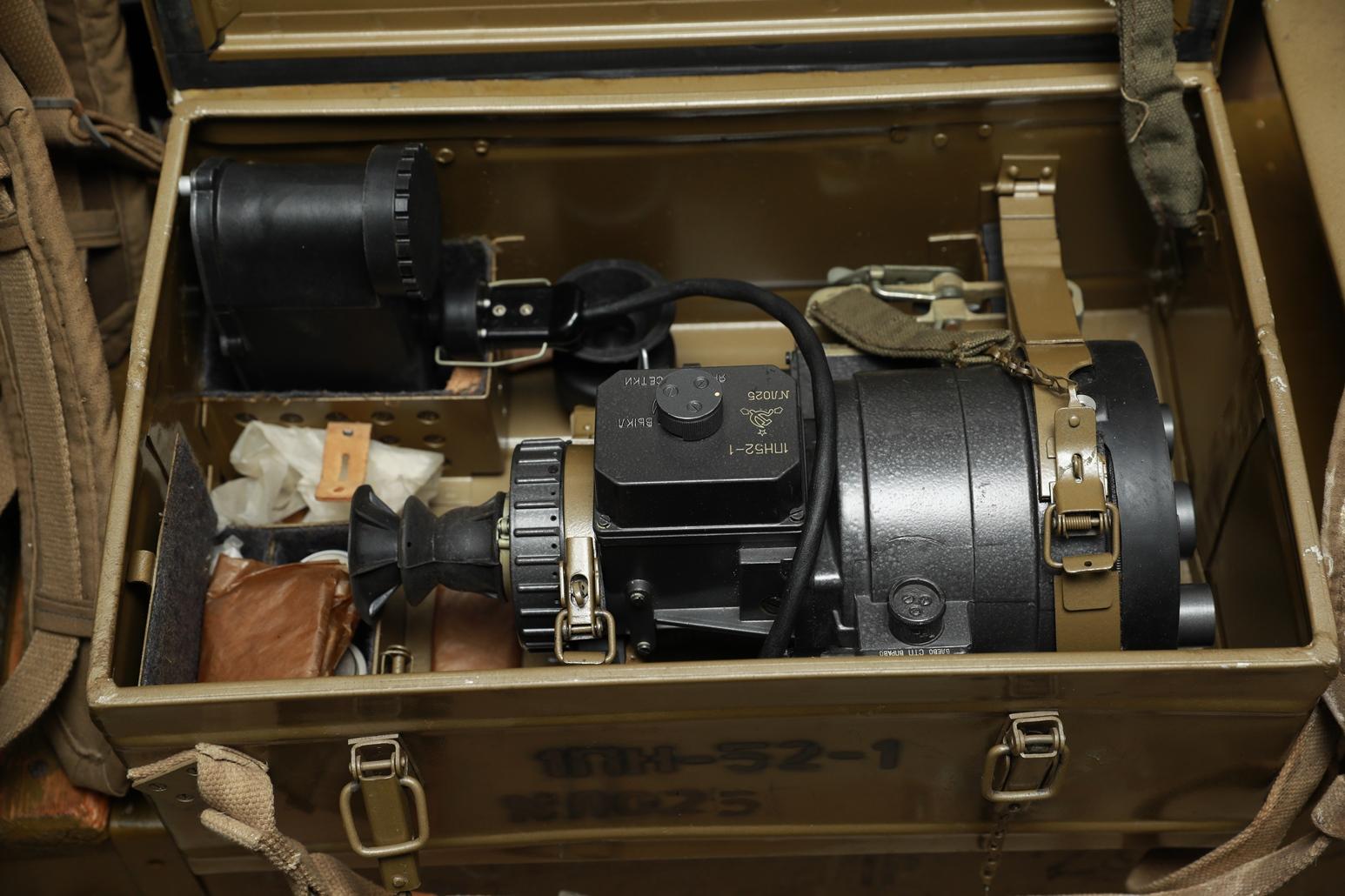 Фото Ночной прицел 1ПН-52-1 №ЛО025 для пулемета Утёс 12,7