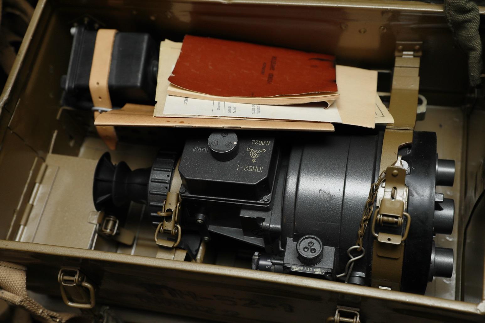 Фото Ночной прицел 1ПН-52-1 №ЛО022 для пулемета Утёс 12,7