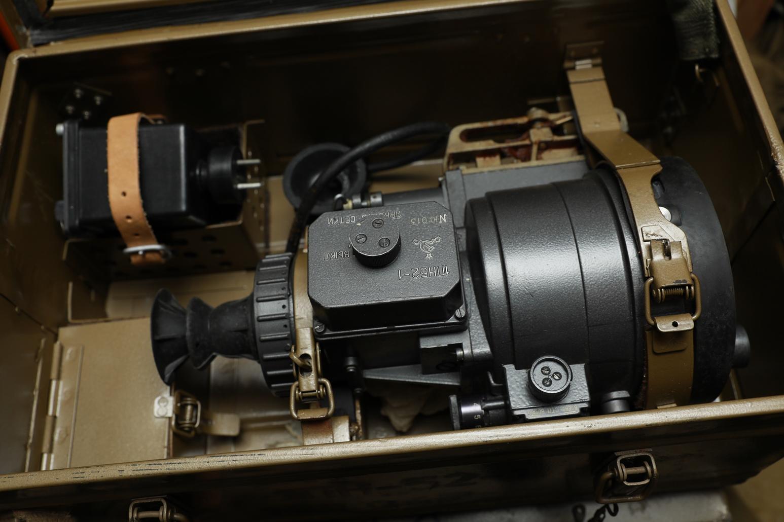 Фото Ночной прицел 1ПН-52-1 №ЛО067 для пулемета Утёс 12,7