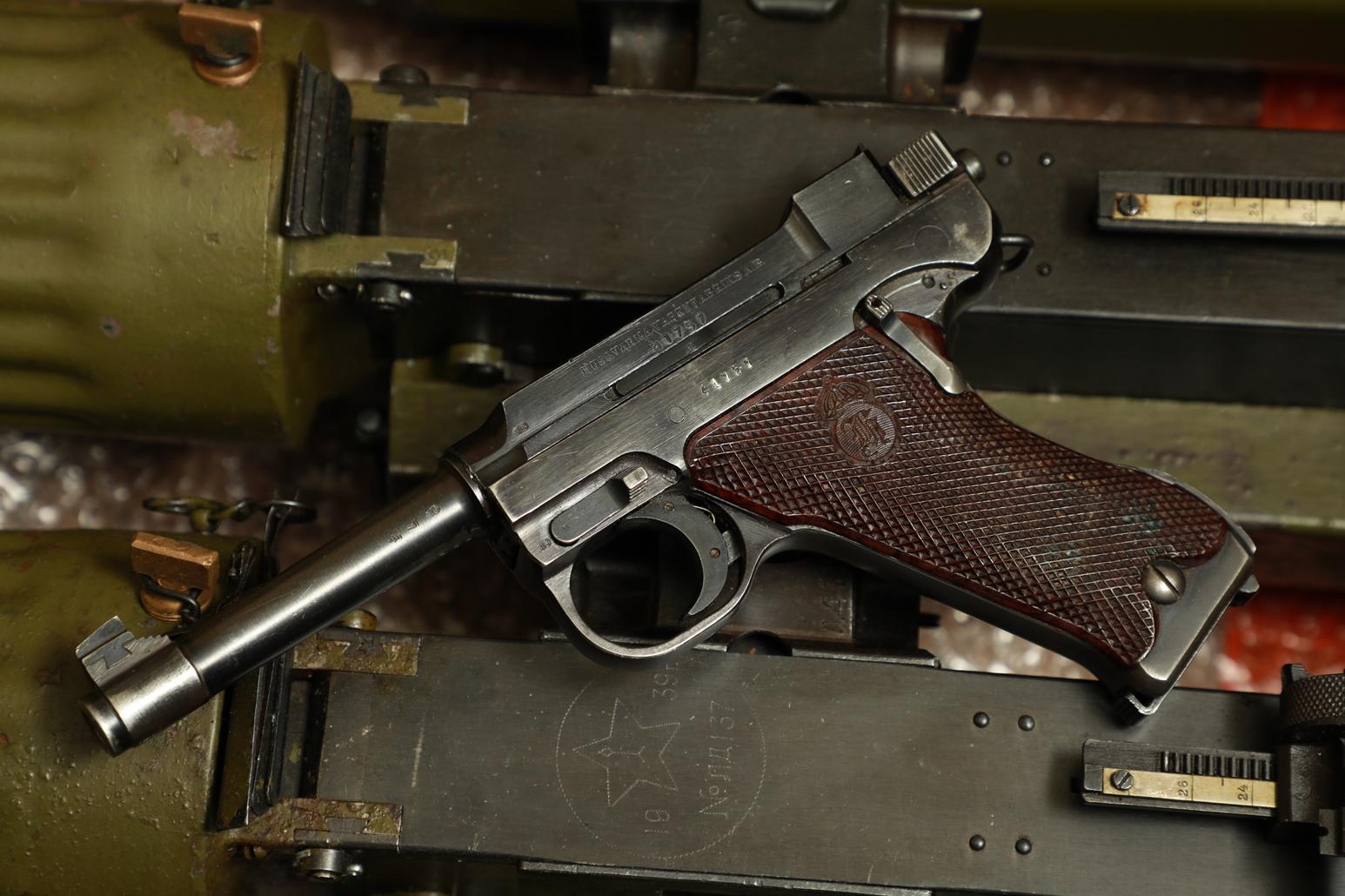 Пистолет Huskvarna M40 #41757