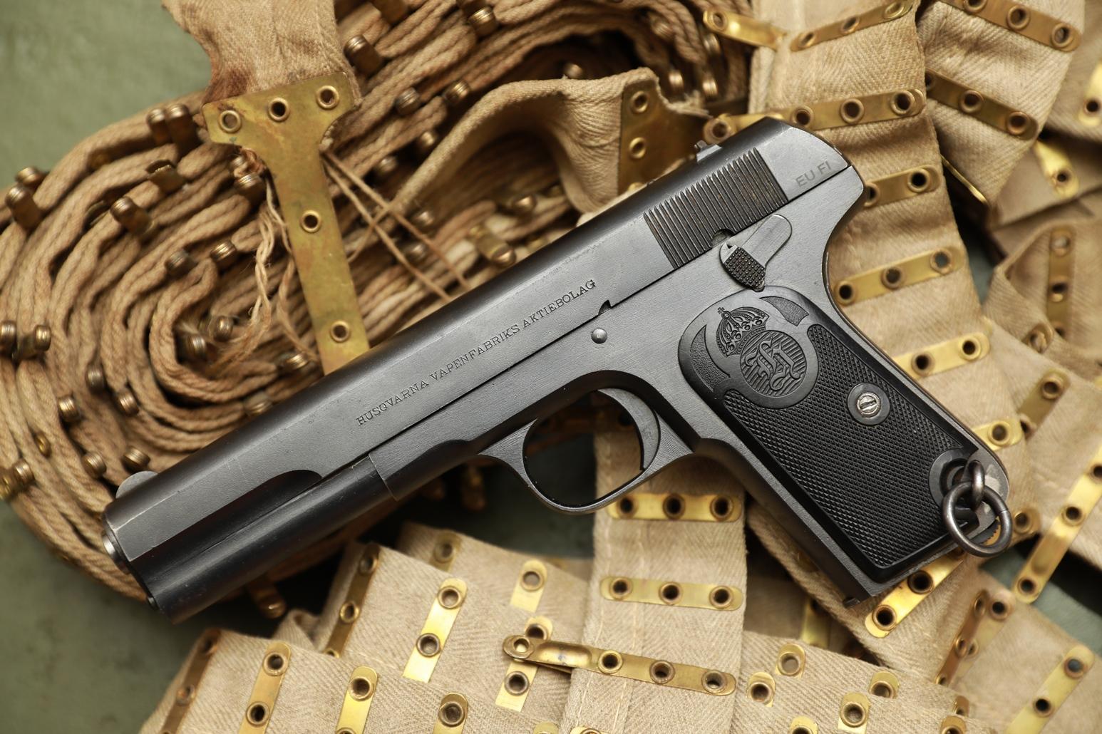 Пистолет Huskvarna m1907 #105168