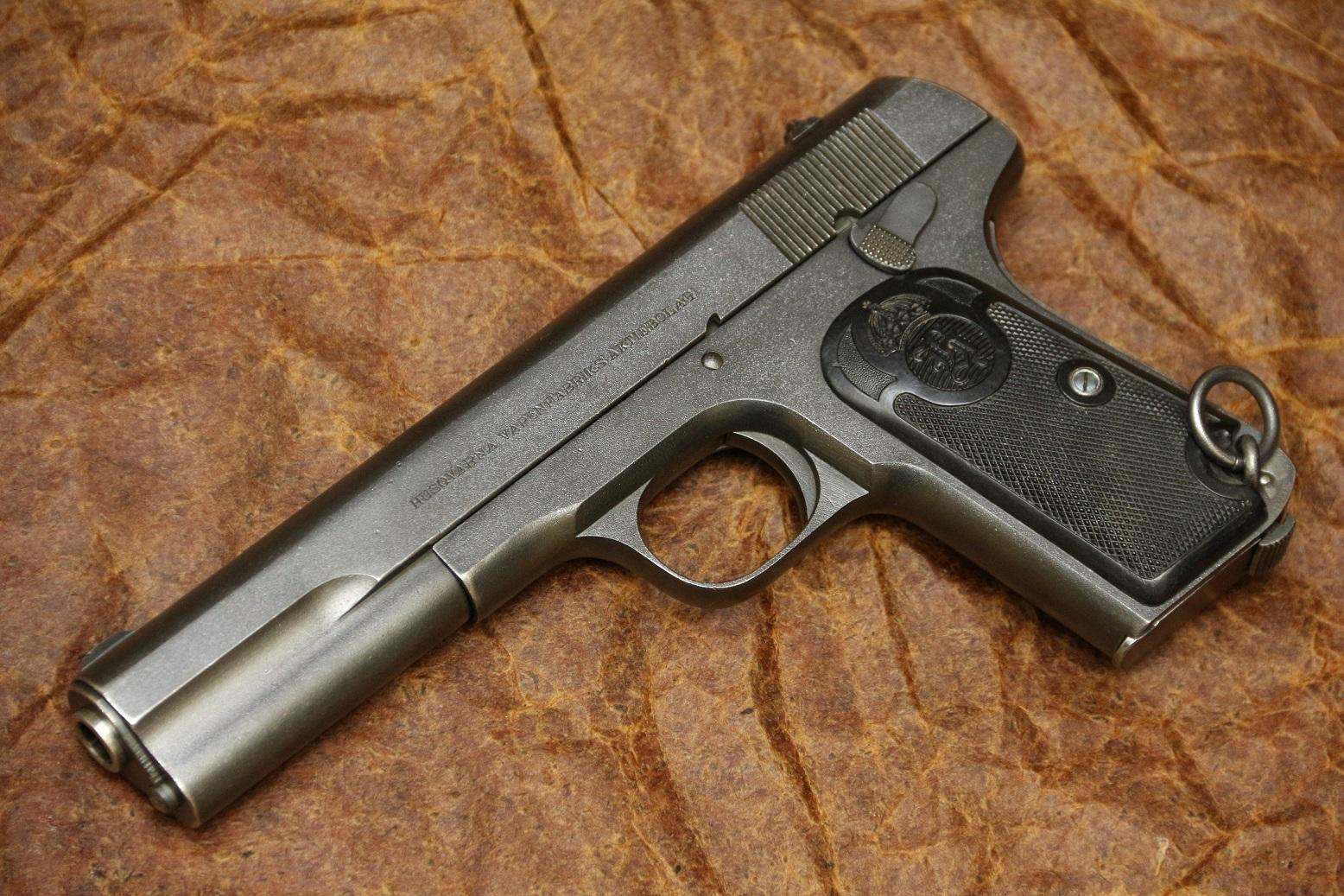 Фото Пистолет Хускварна М1907 №105306