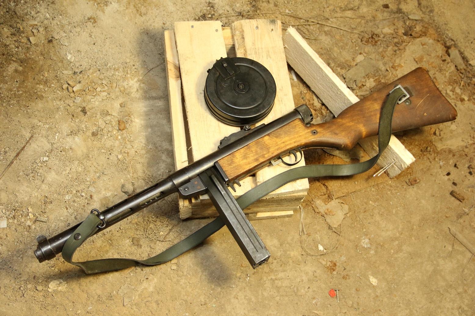 Финский пистолет-пулемет Suomi m.1931, #34328