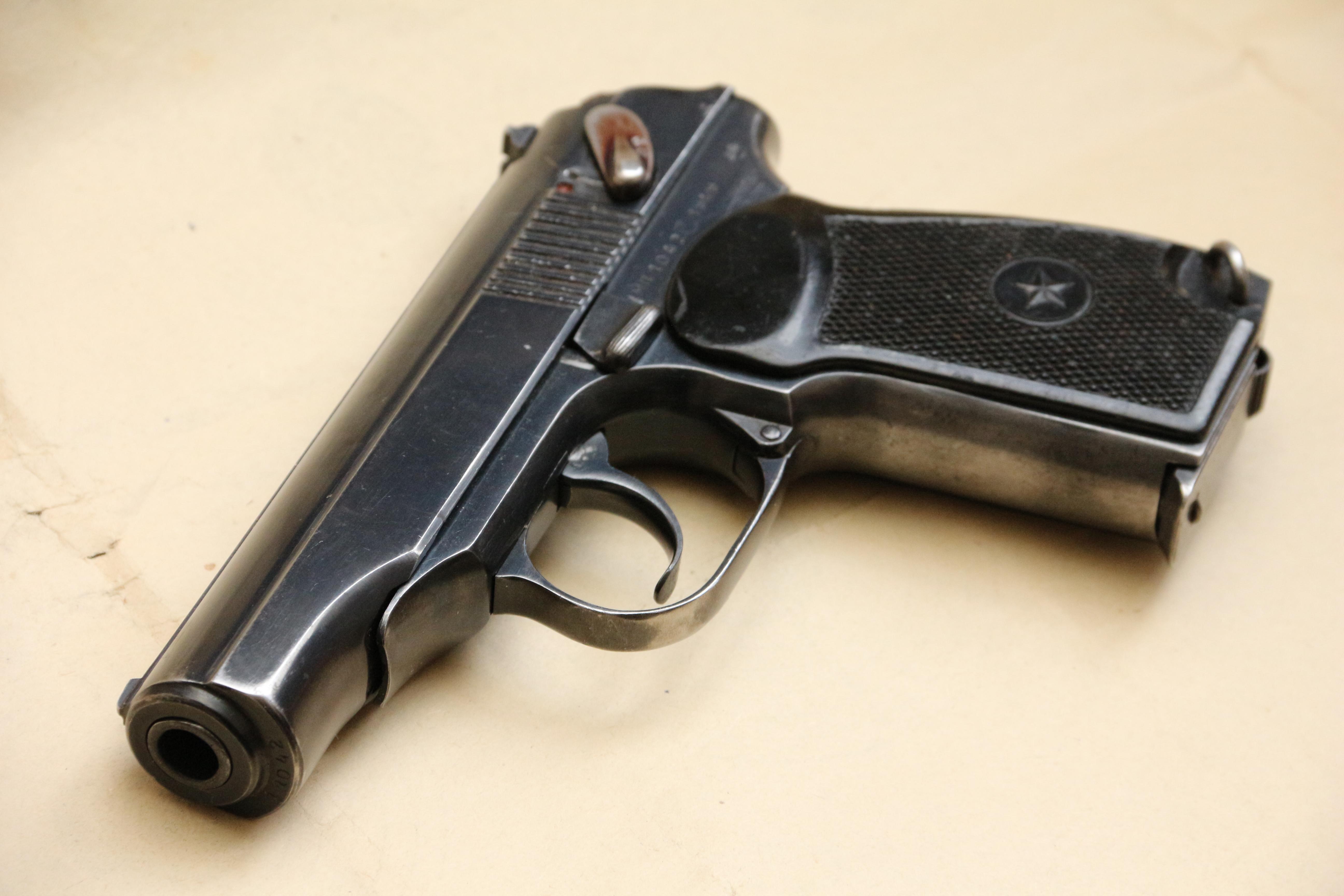 Фото Охолощенный пистолет Макарова ПМ-О 1949 года №МП1042