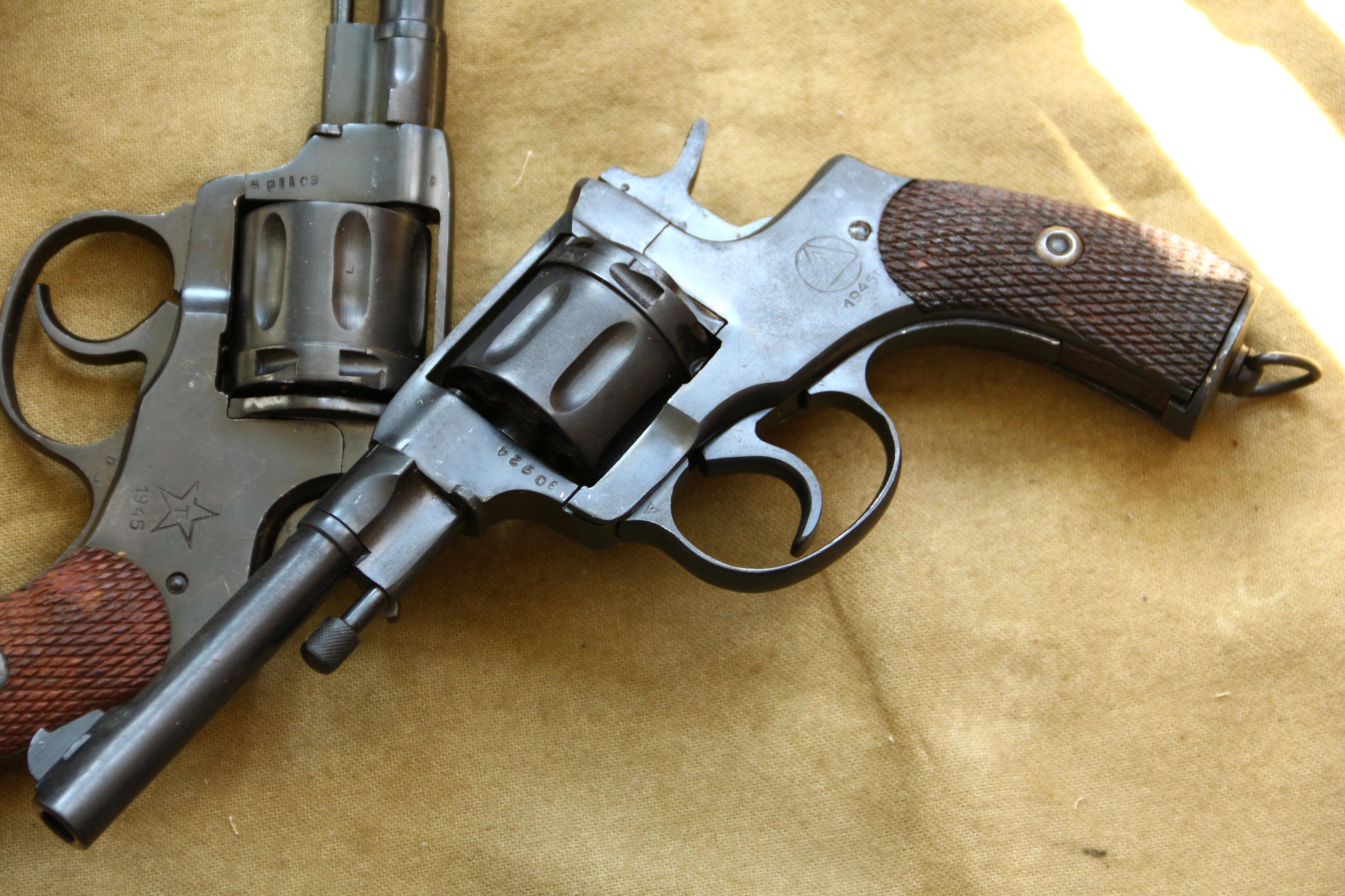Фото Револьвер Наган 1945 года №ЭО924