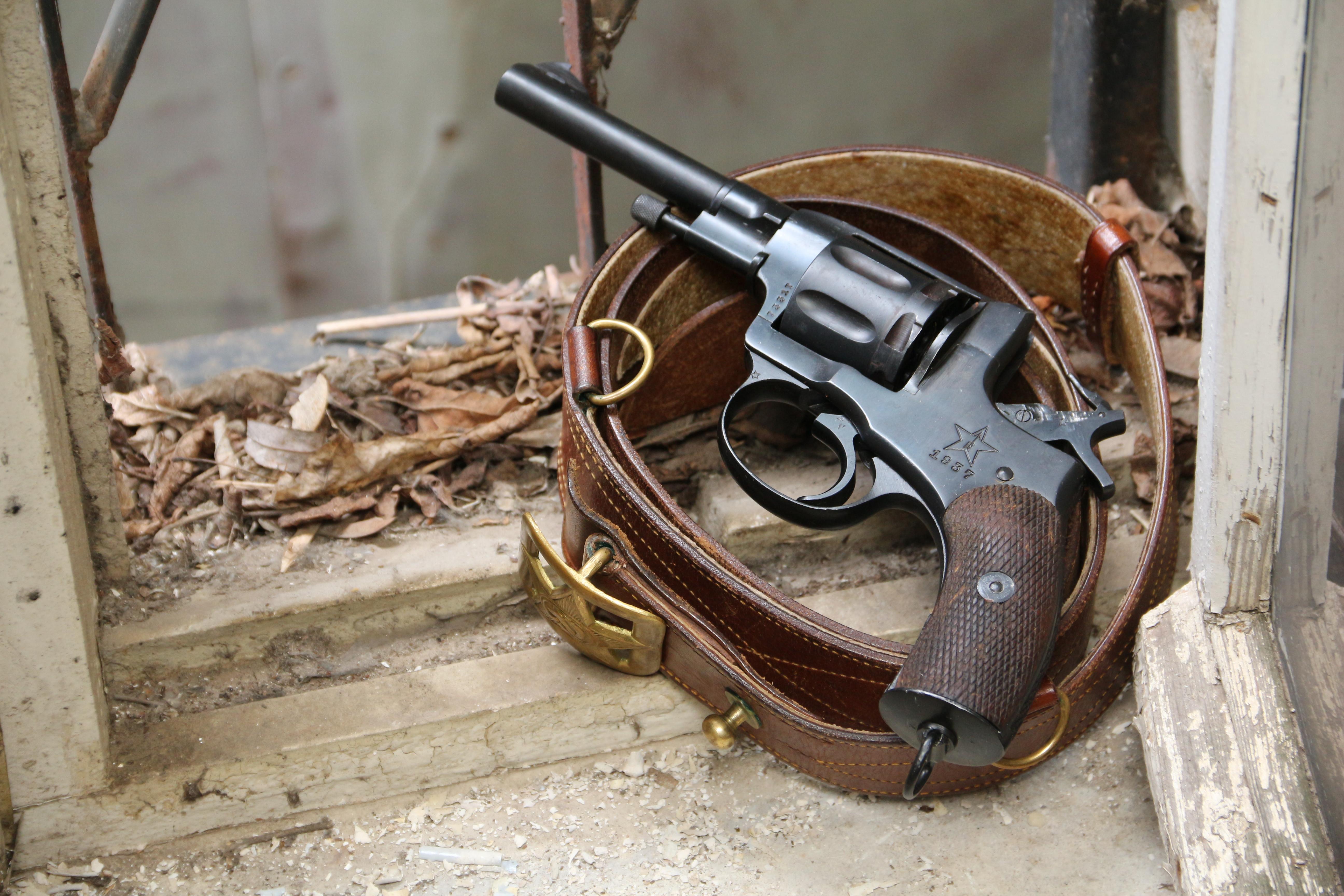 Фото Револьвер Наган 1937 года №73317